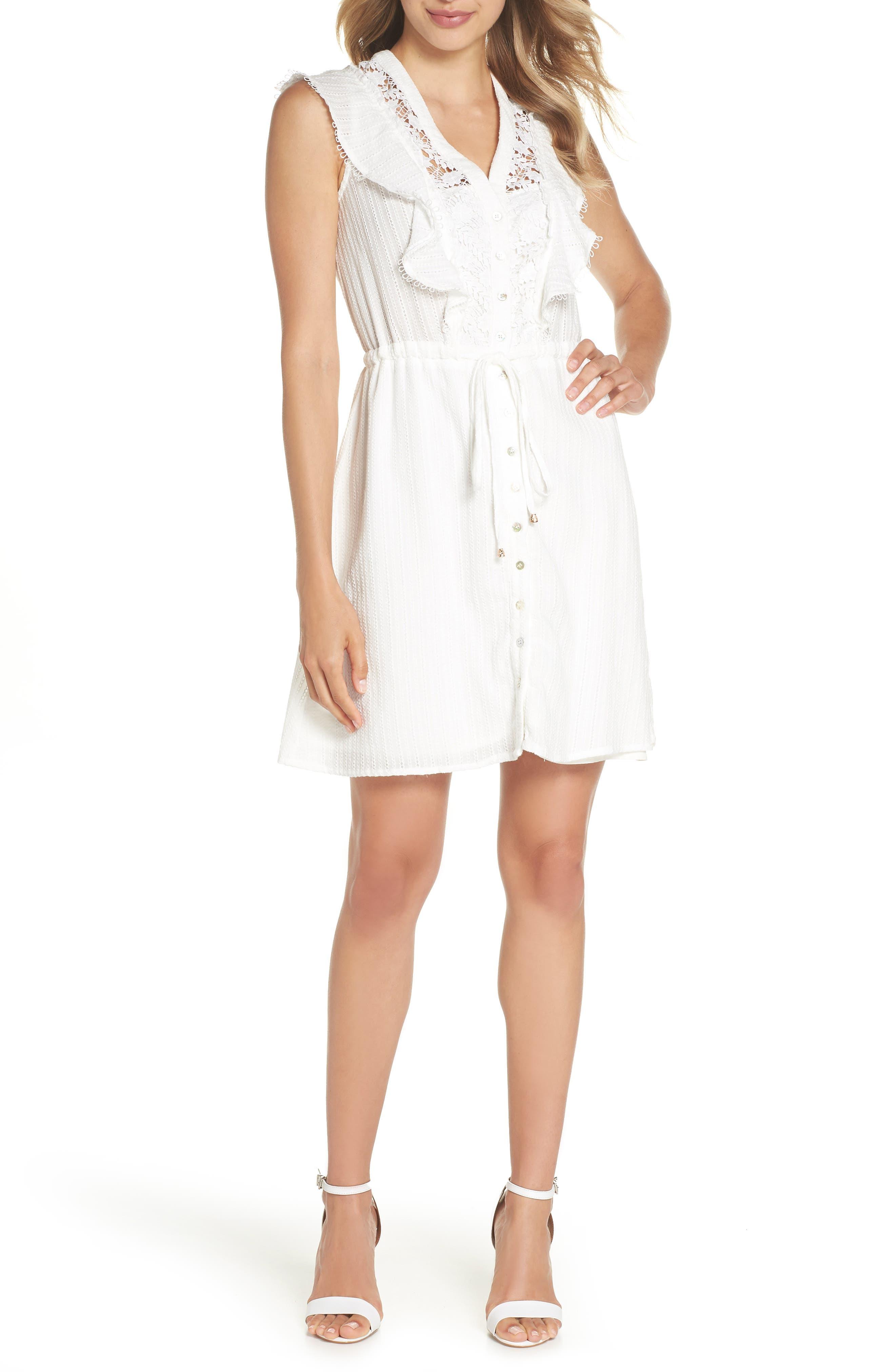 Oli Ruffle Lace Dress,                         Main,                         color,