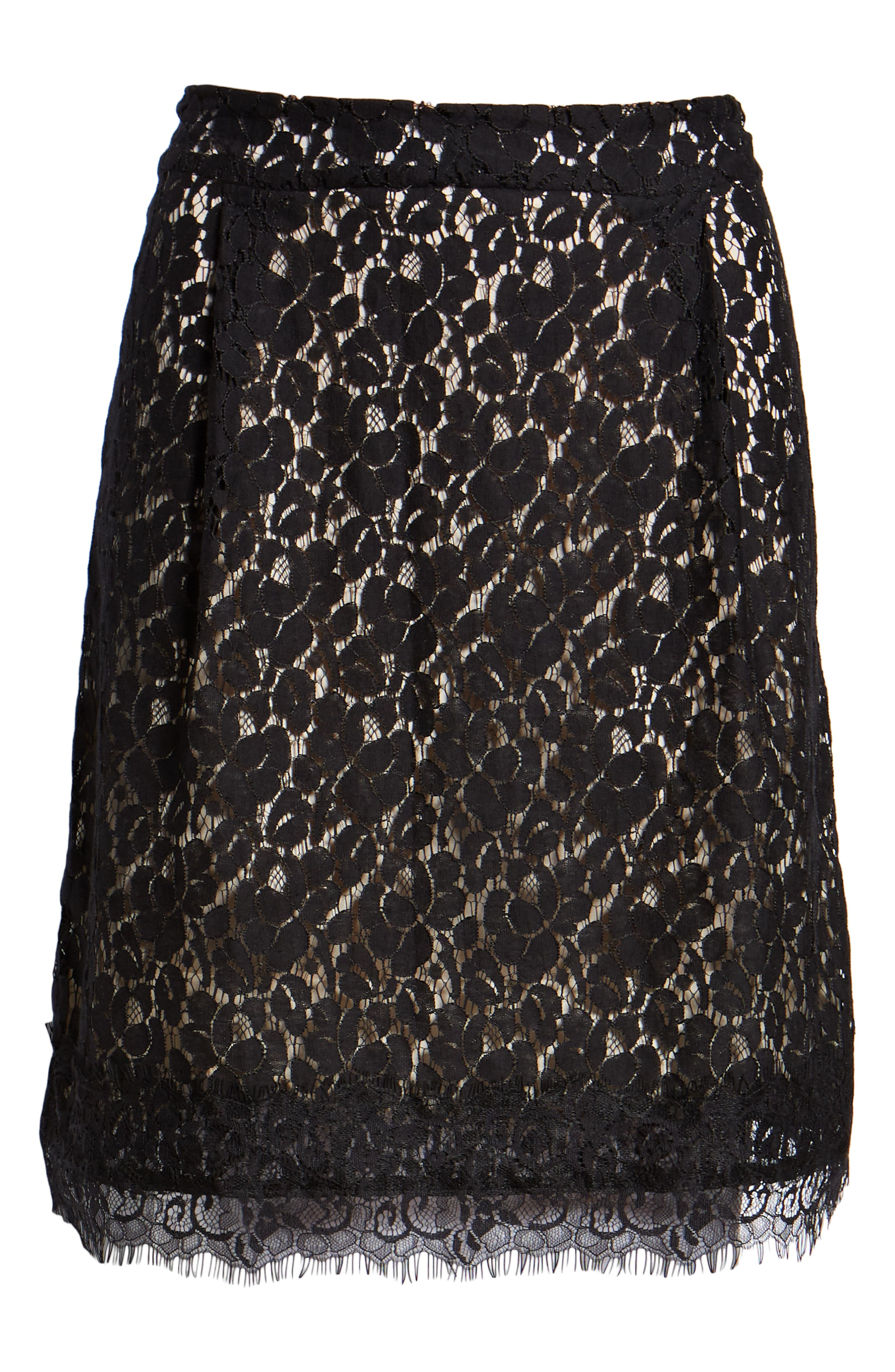 GIBSON,                             x Glam Squad Lace Skirt,                             Alternate thumbnail 7, color,                             017
