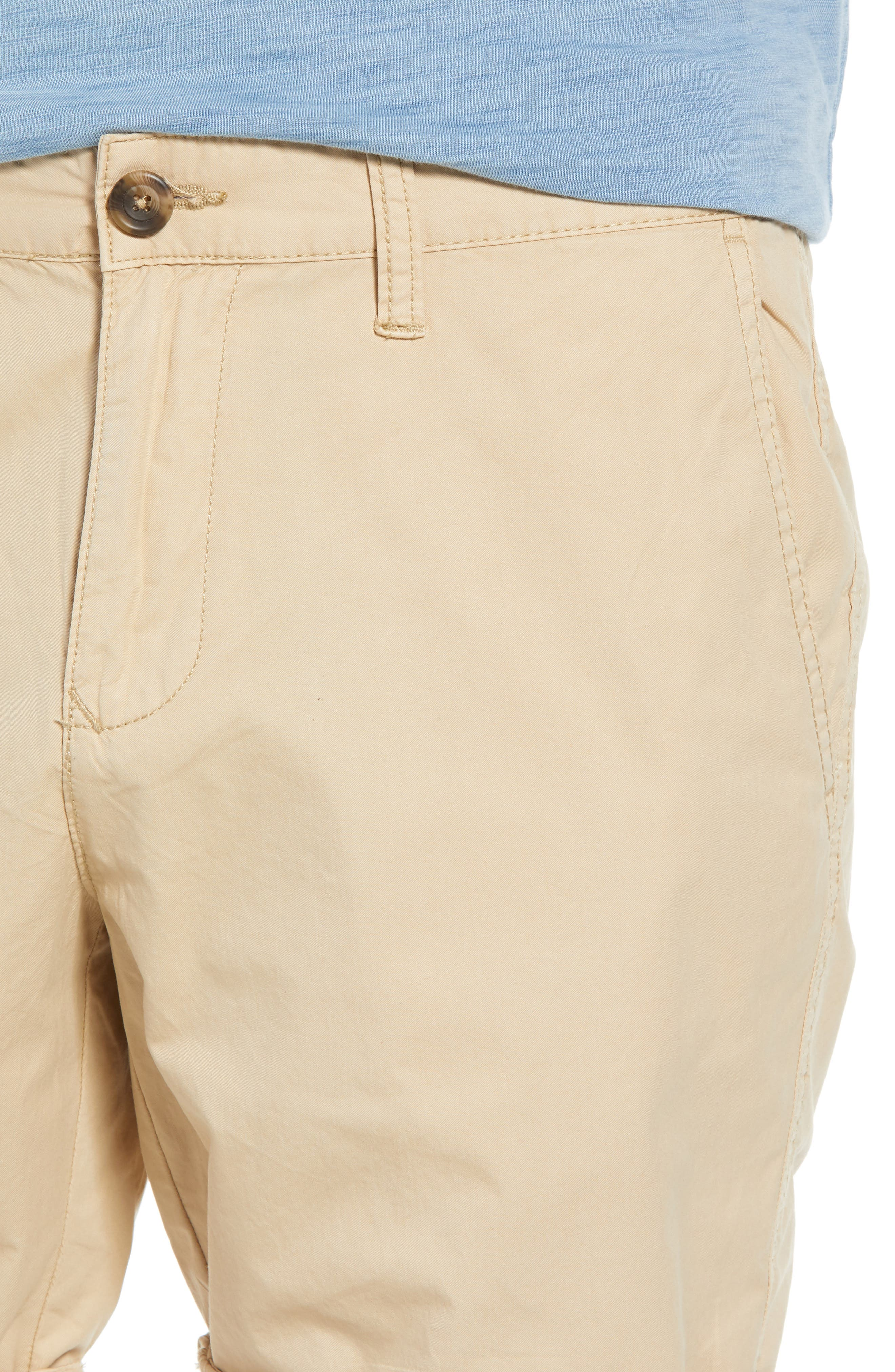 Washed Cuffed Shorts,                             Alternate thumbnail 4, color,                             260