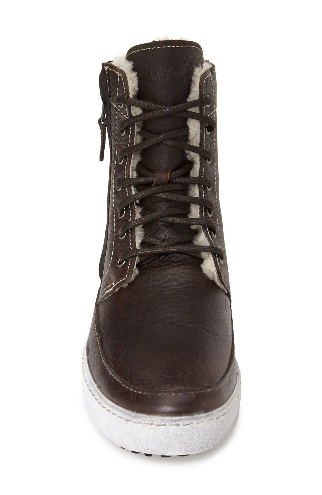 'GM05' High Top Sneaker,                             Alternate thumbnail 3, color,                             PINECONE