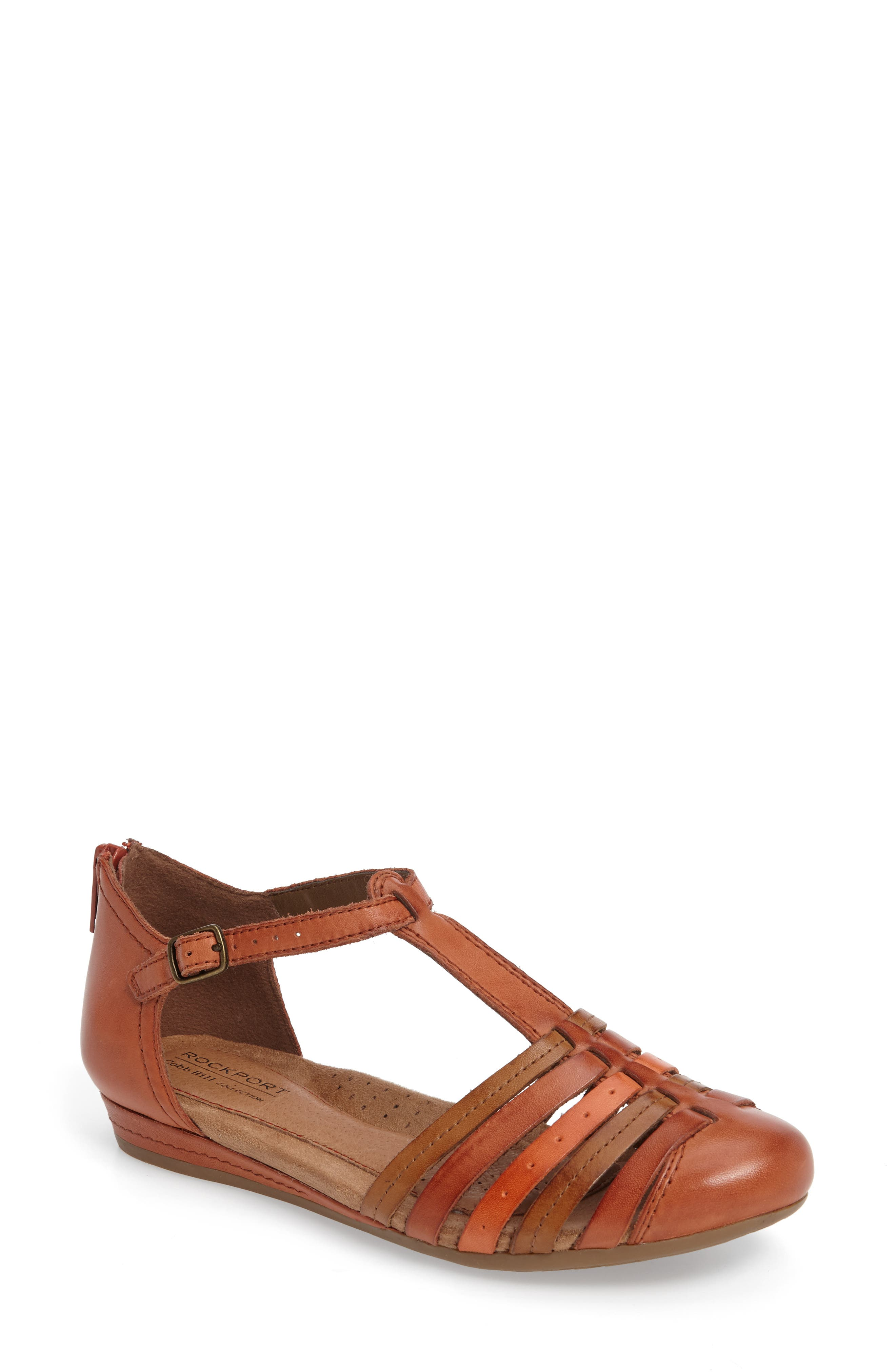 Galway T-Strap Sandal,                             Main thumbnail 2, color,