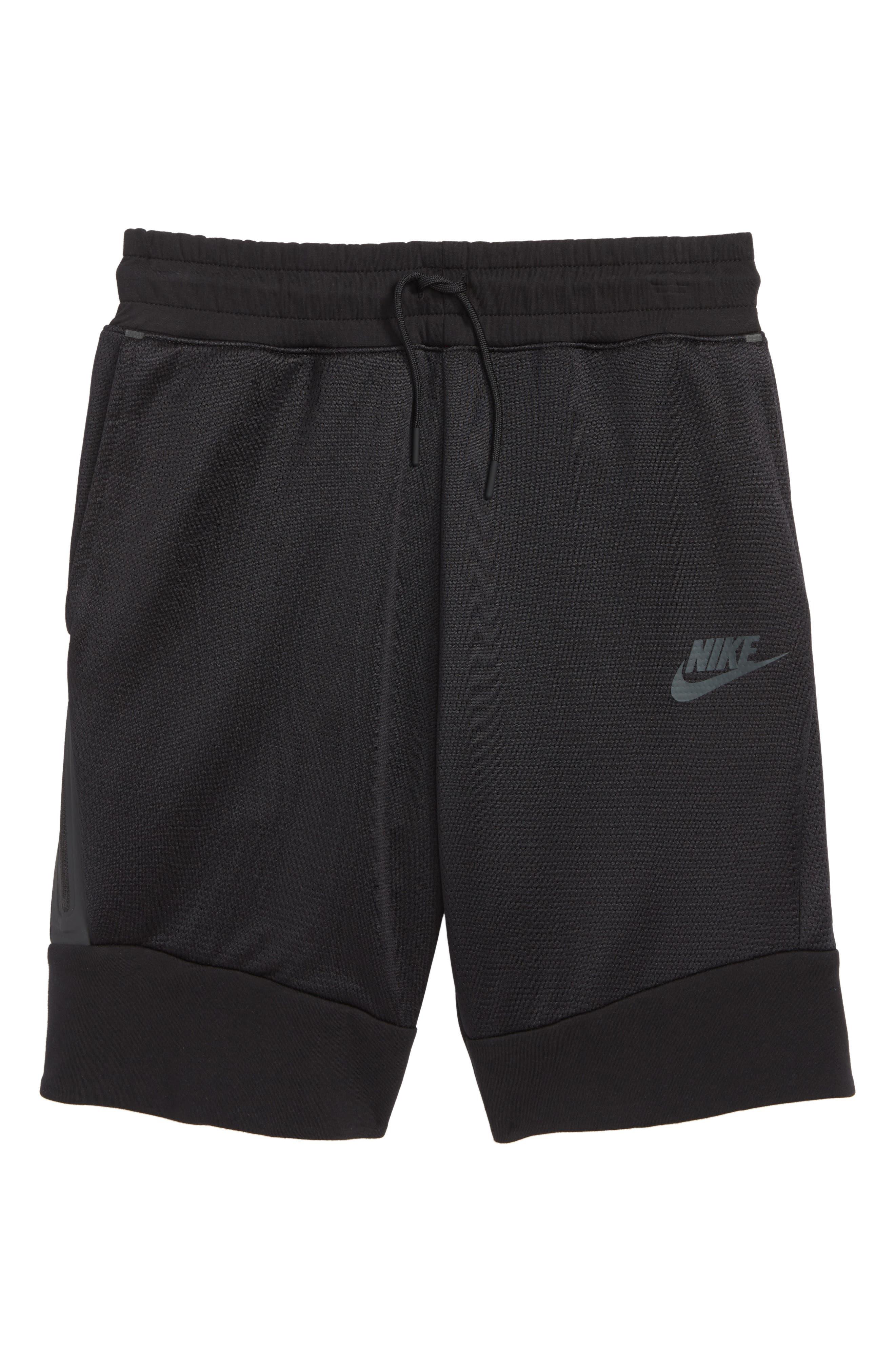 Sportswear Tech Fleece Shorts,                             Main thumbnail 1, color,                             010