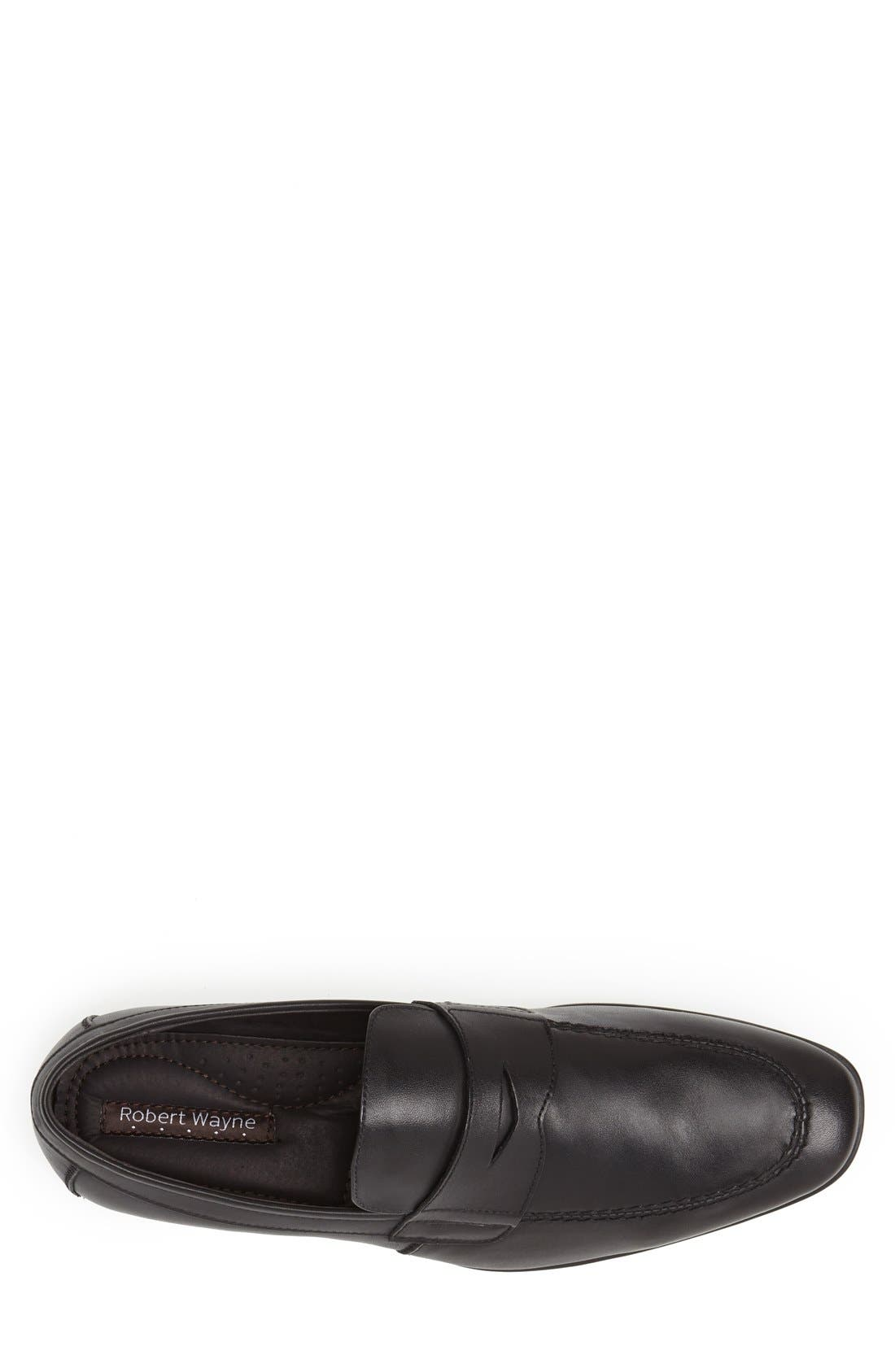 'Reese' Penny Loafer,                             Alternate thumbnail 3, color,                             001