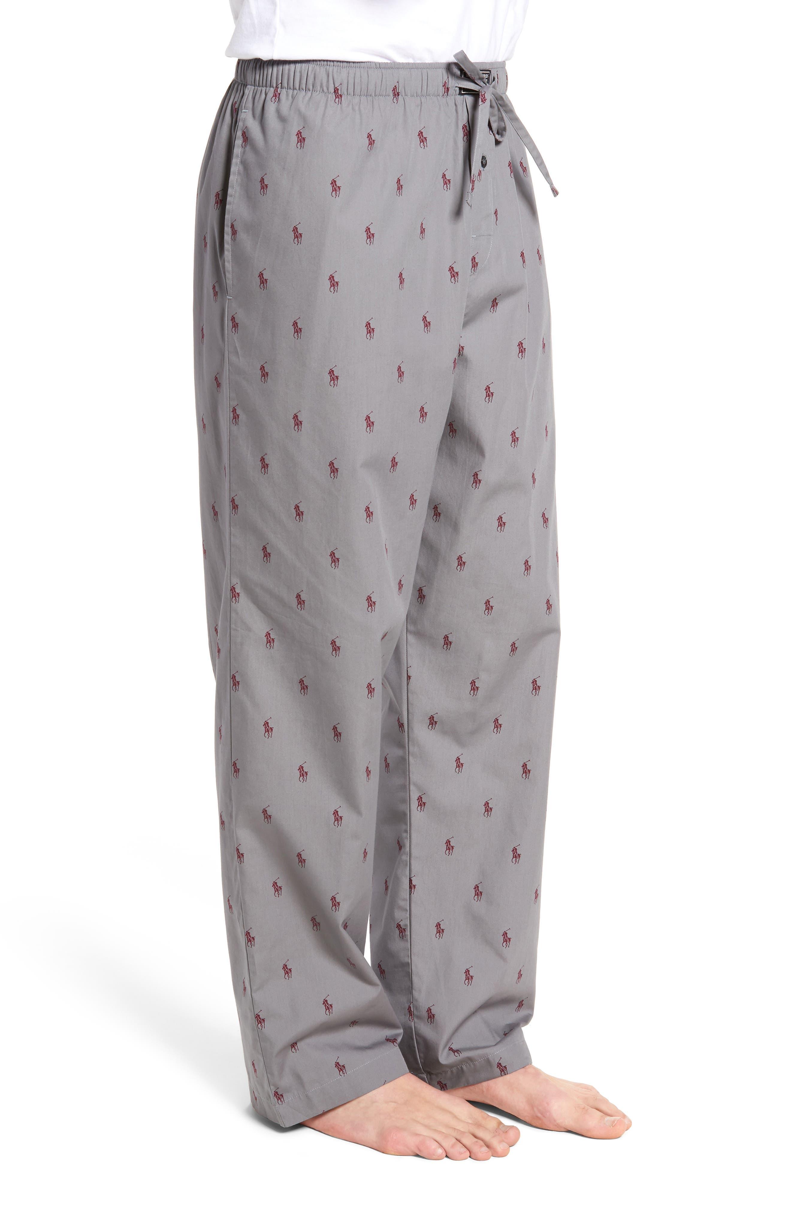Polo Ralph Lauren Cotton Lounge Pants,                             Alternate thumbnail 11, color,