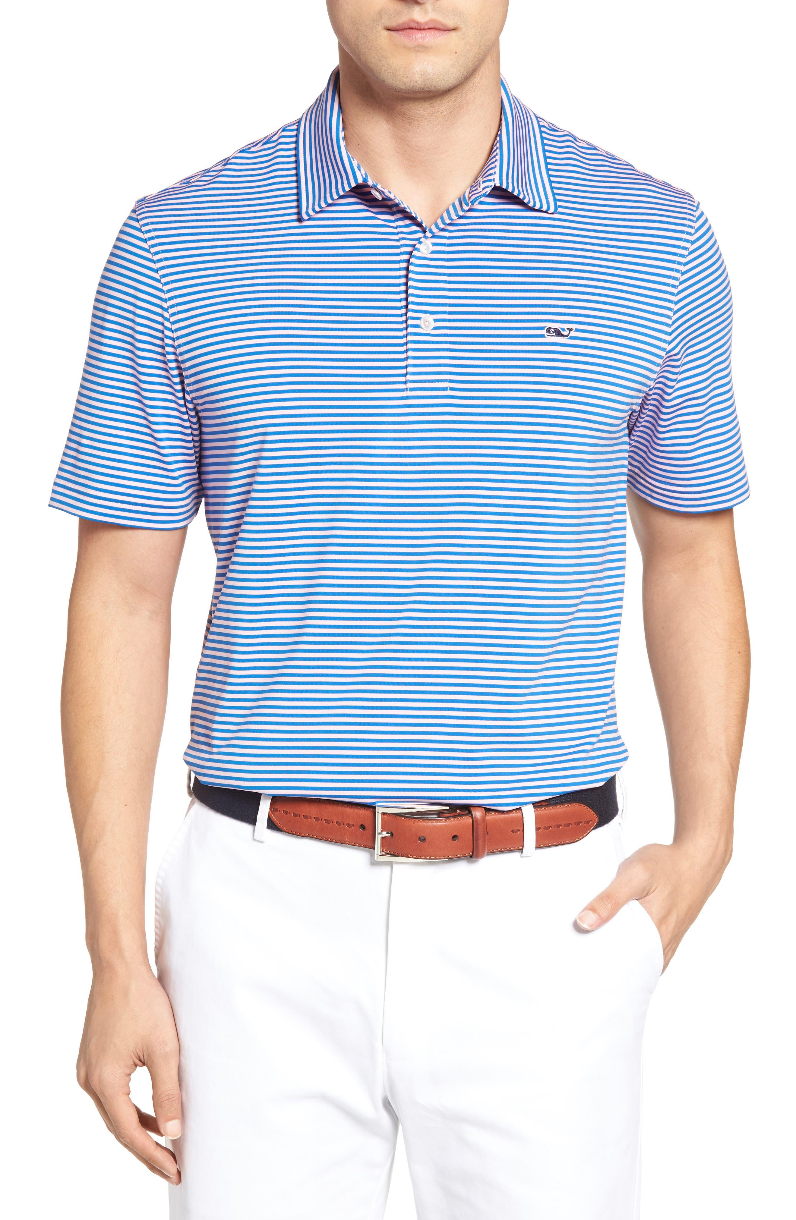 Kennedy Stripe Golf Polo,                             Main thumbnail 16, color,