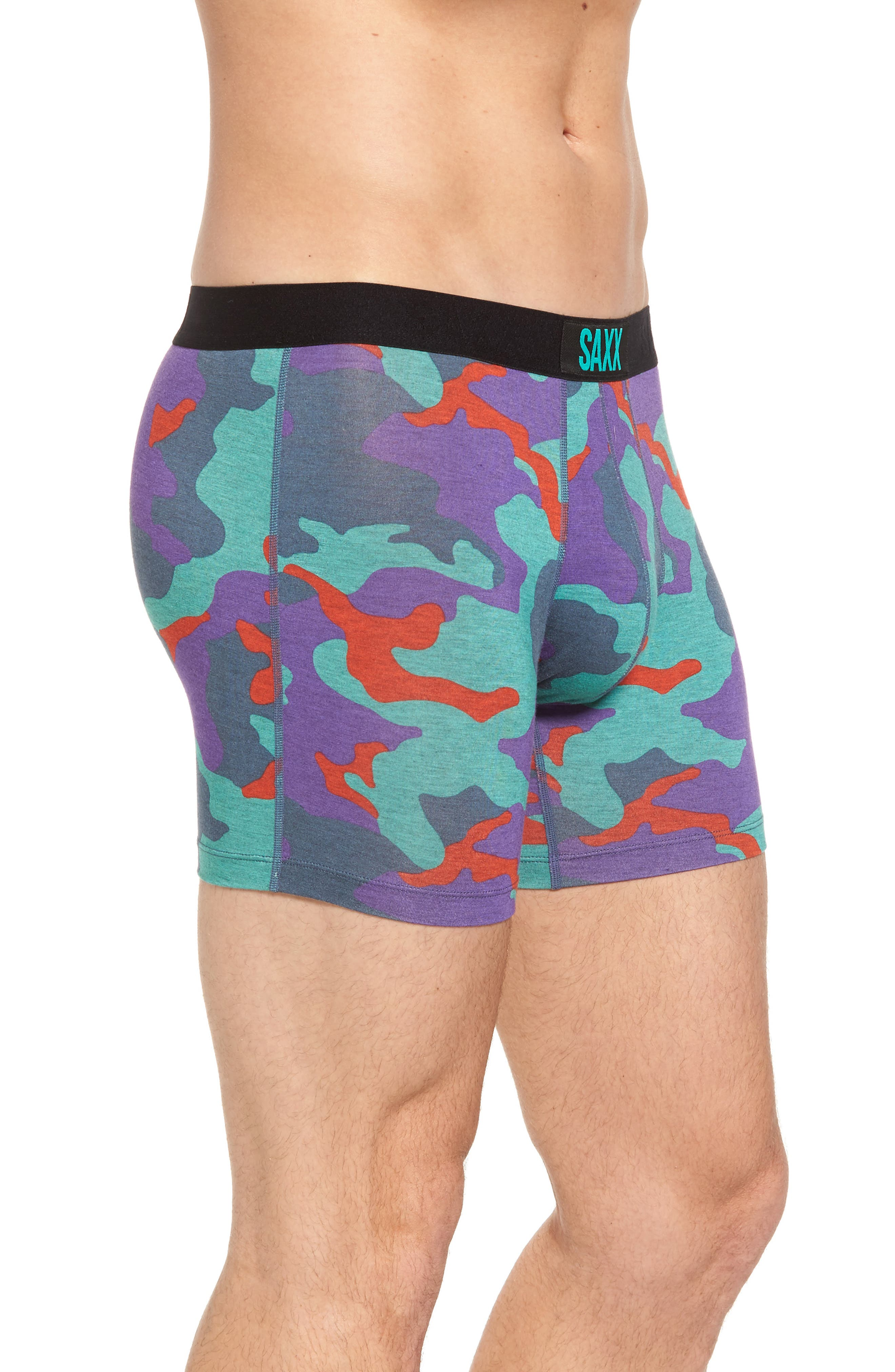 Vibe Stretch Boxer Briefs,                             Alternate thumbnail 3, color,                             521