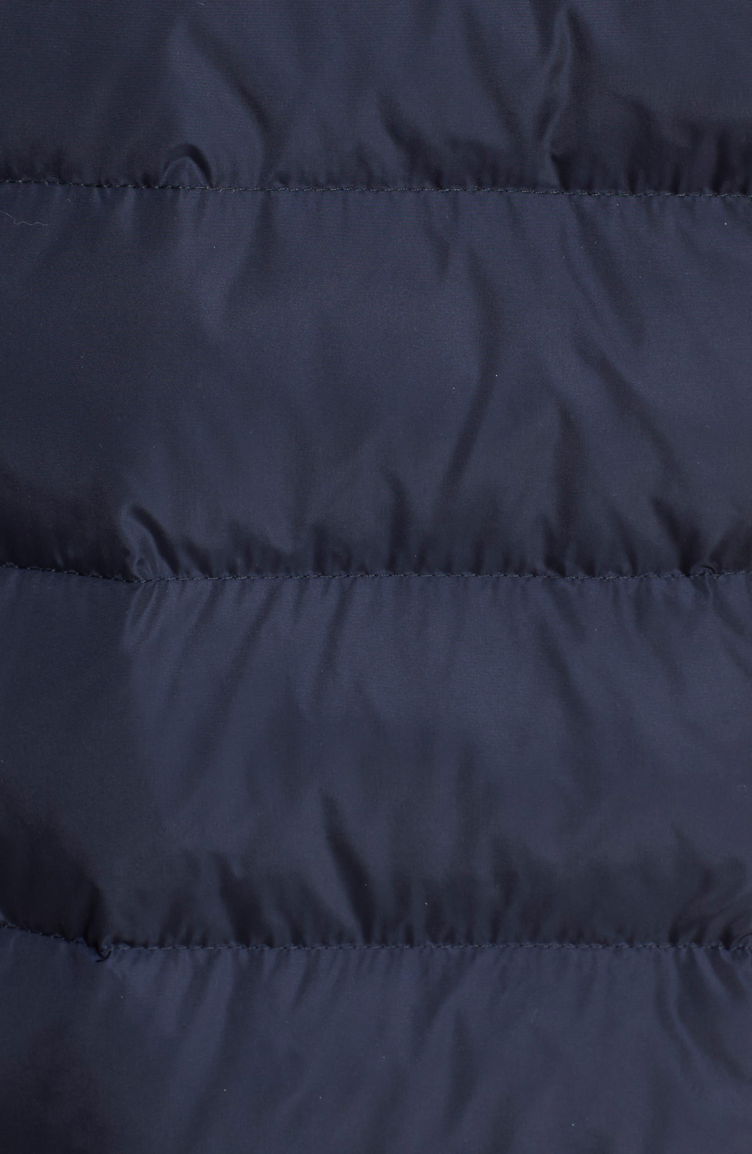 'Elestoria' Two-Piece Down Puffer Coat with Genuine Fox Fur Trim,                             Alternate thumbnail 7, color,                             419