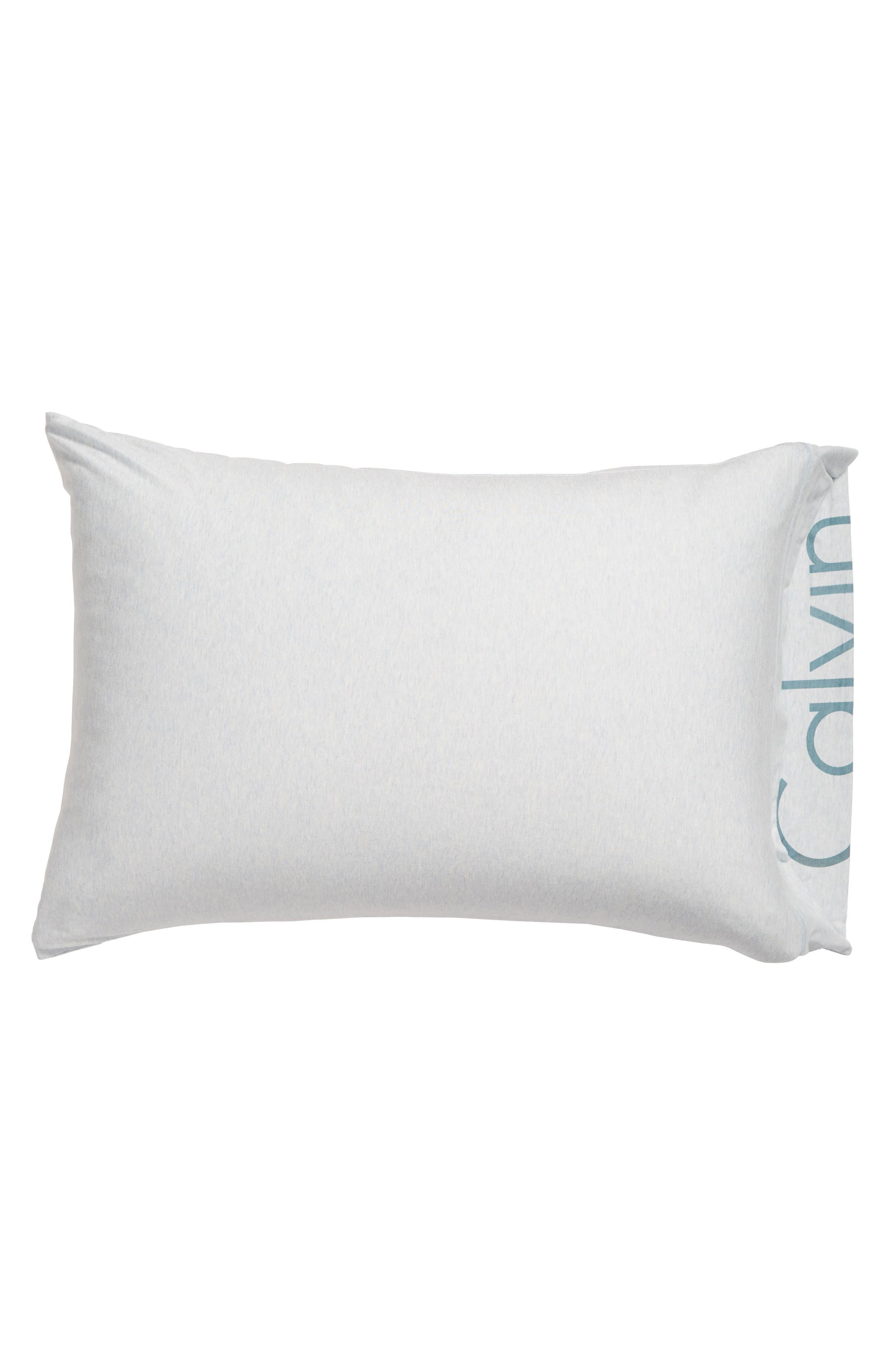 Calvin Klein Pulse Pillowcases,                             Main thumbnail 1, color,                             SPRAY