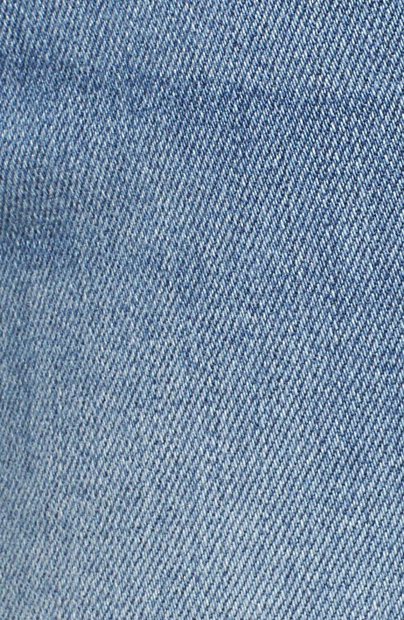 Good Waist High Waist Skinny Jeans,                             Alternate thumbnail 6, color,                             401