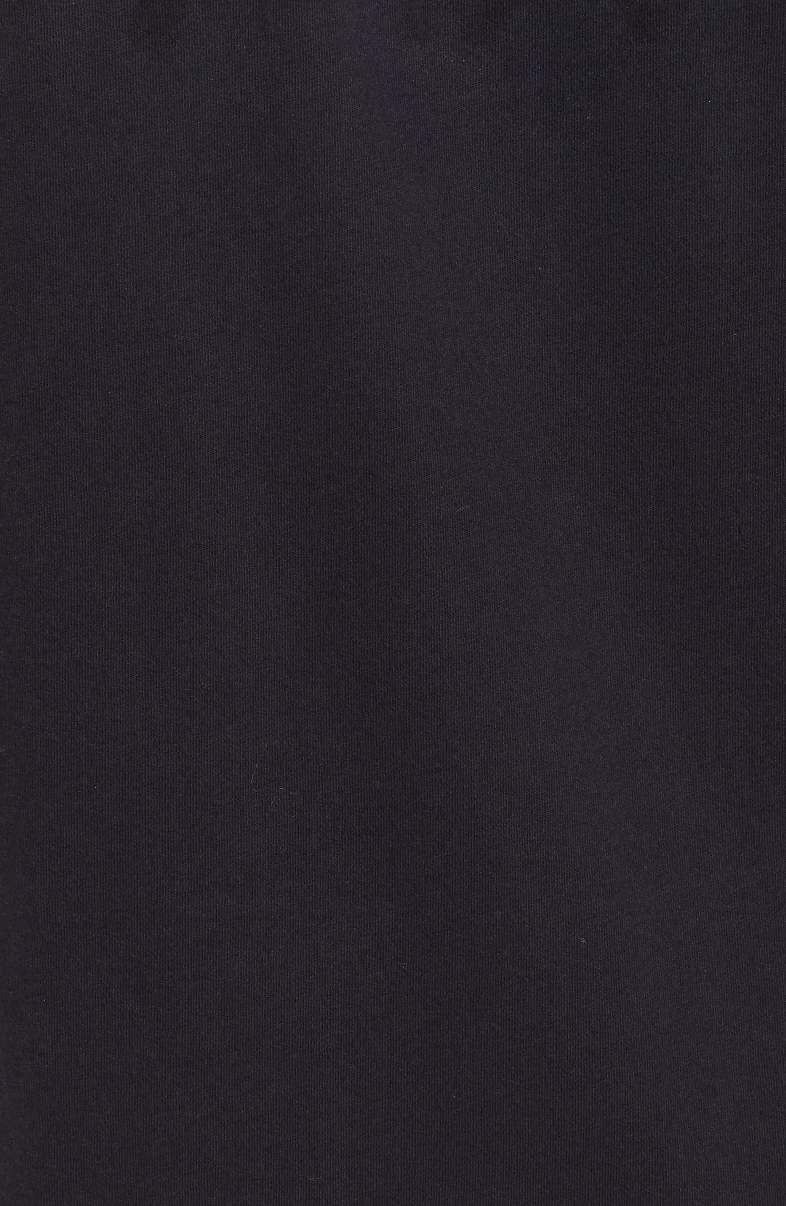 True Religion Core Metallic T-Shirt,                             Alternate thumbnail 5, color,                             001