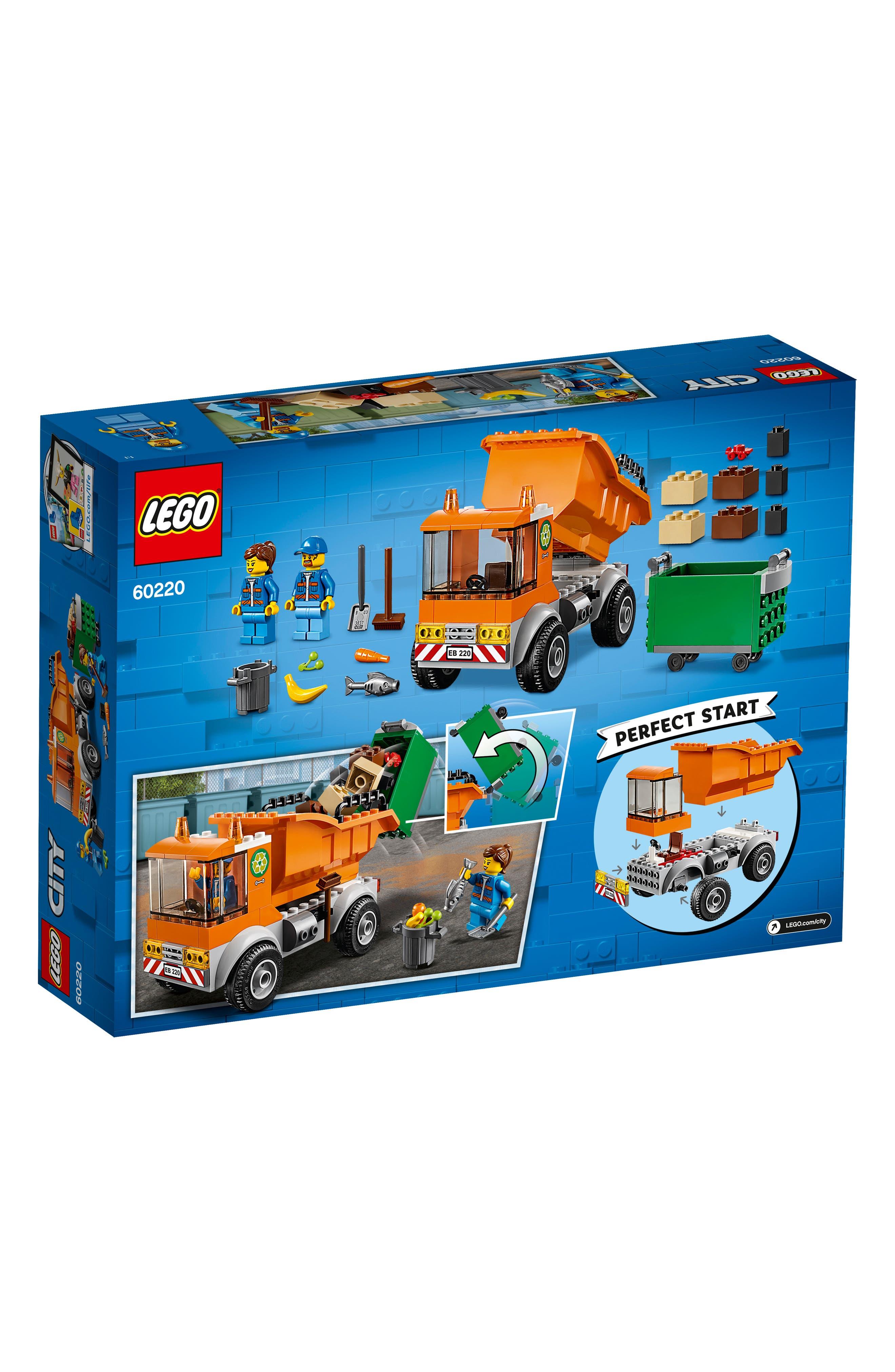 4+ City Garbage Truck - 60220,                             Alternate thumbnail 3, color,                             MULTI