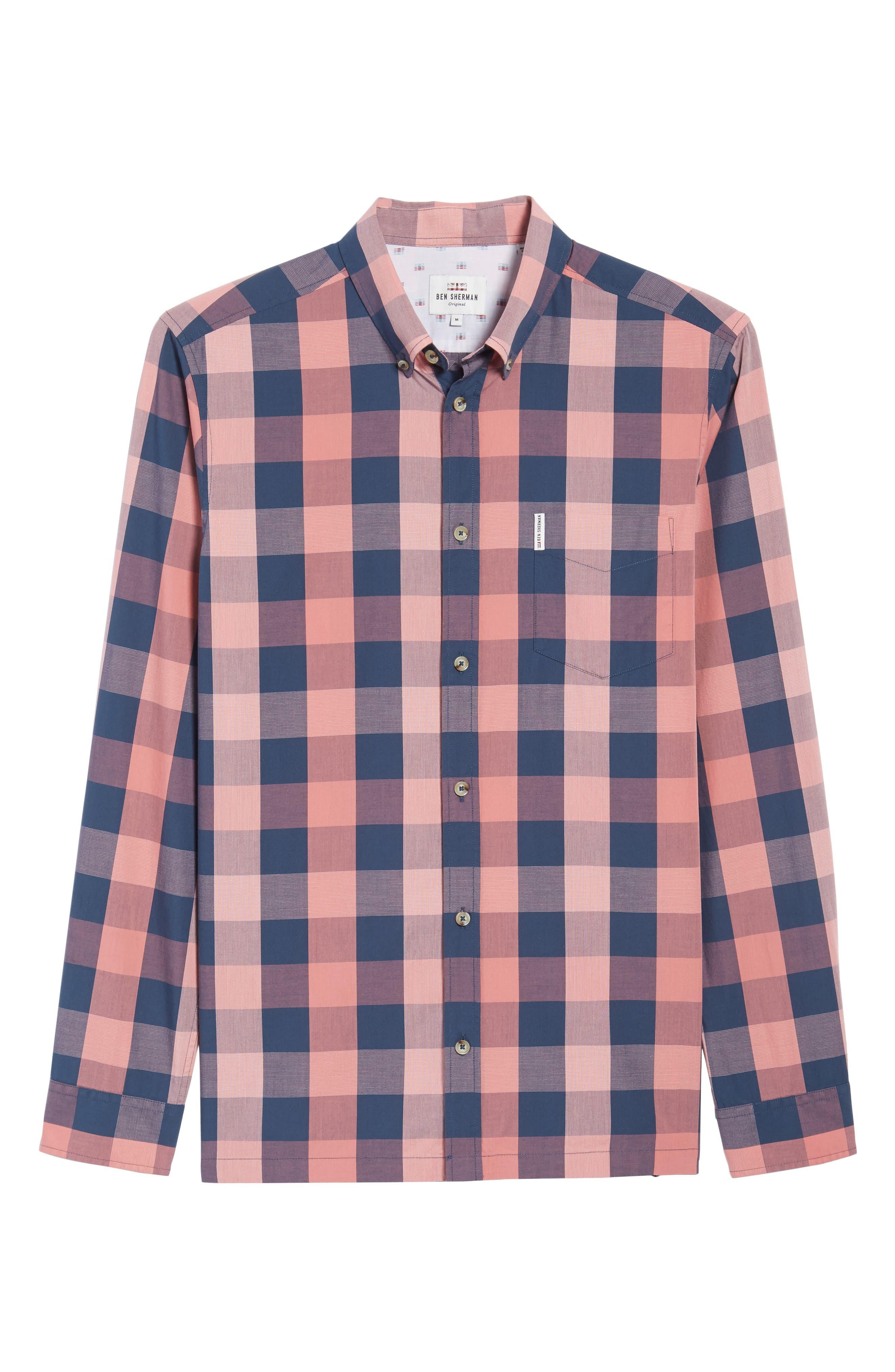 Buffalo Check Woven Shirt,                             Alternate thumbnail 6, color,