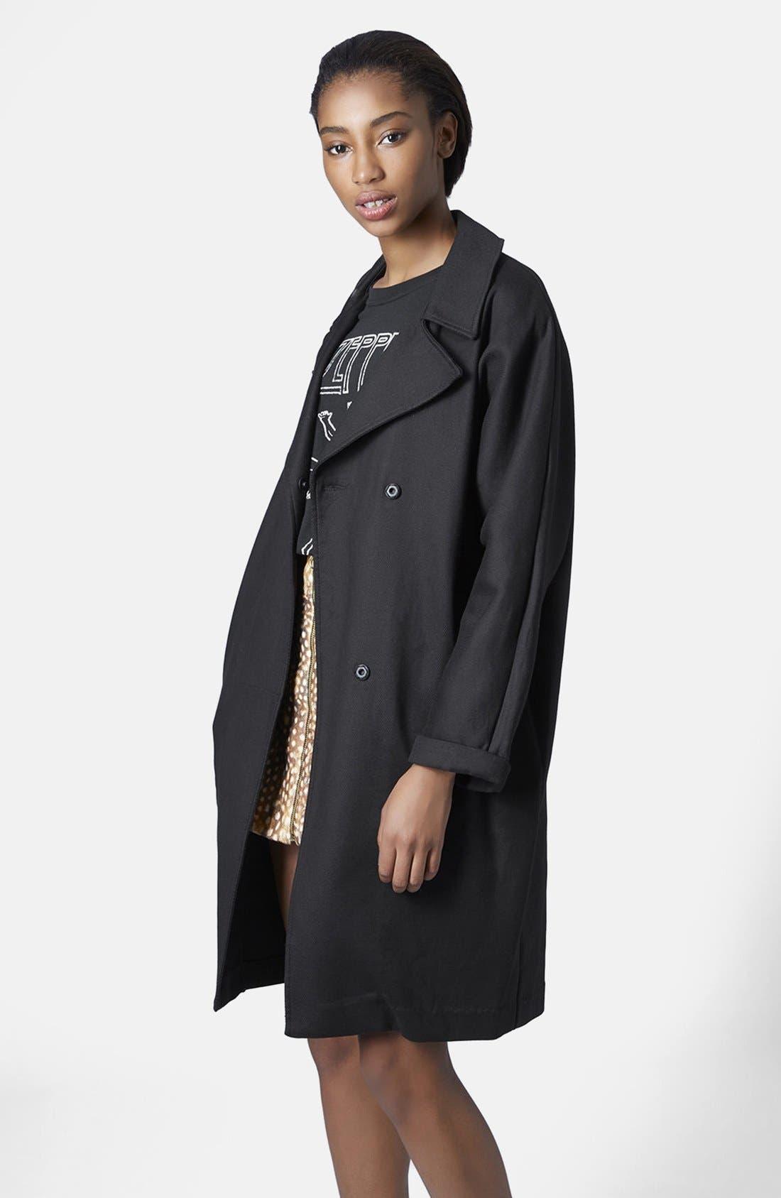 Heavy Duster Coat, Main, color, 001