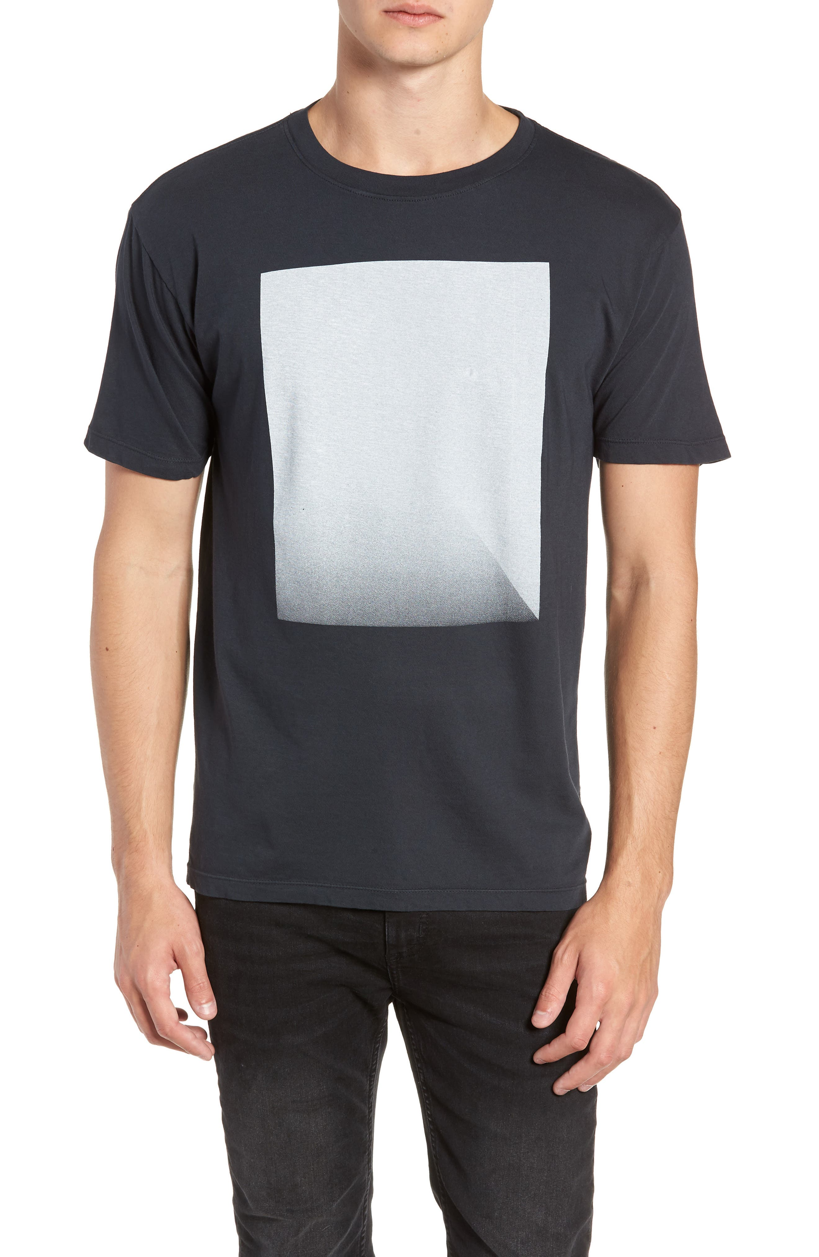 Fadeaway Graphic T-Shirt,                         Main,                         color, CARBON