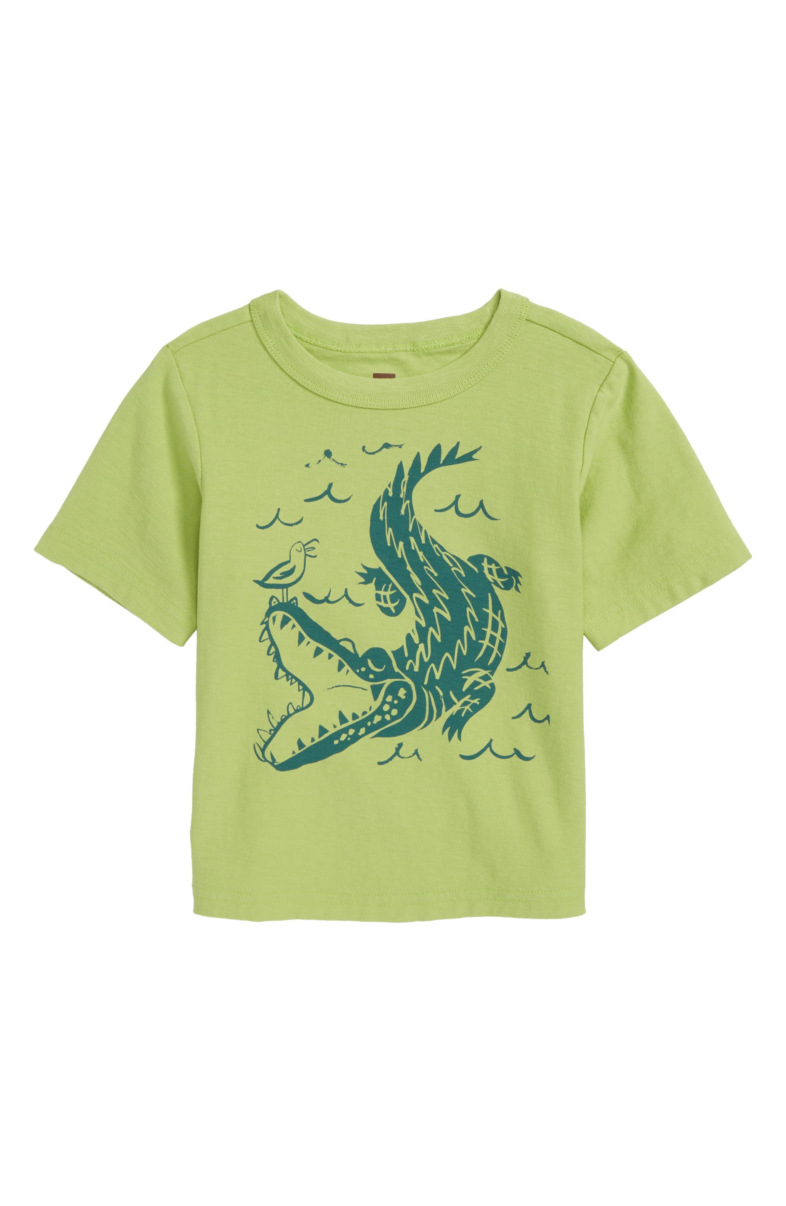 Alligator T-Shirt,                             Main thumbnail 1, color,                             372