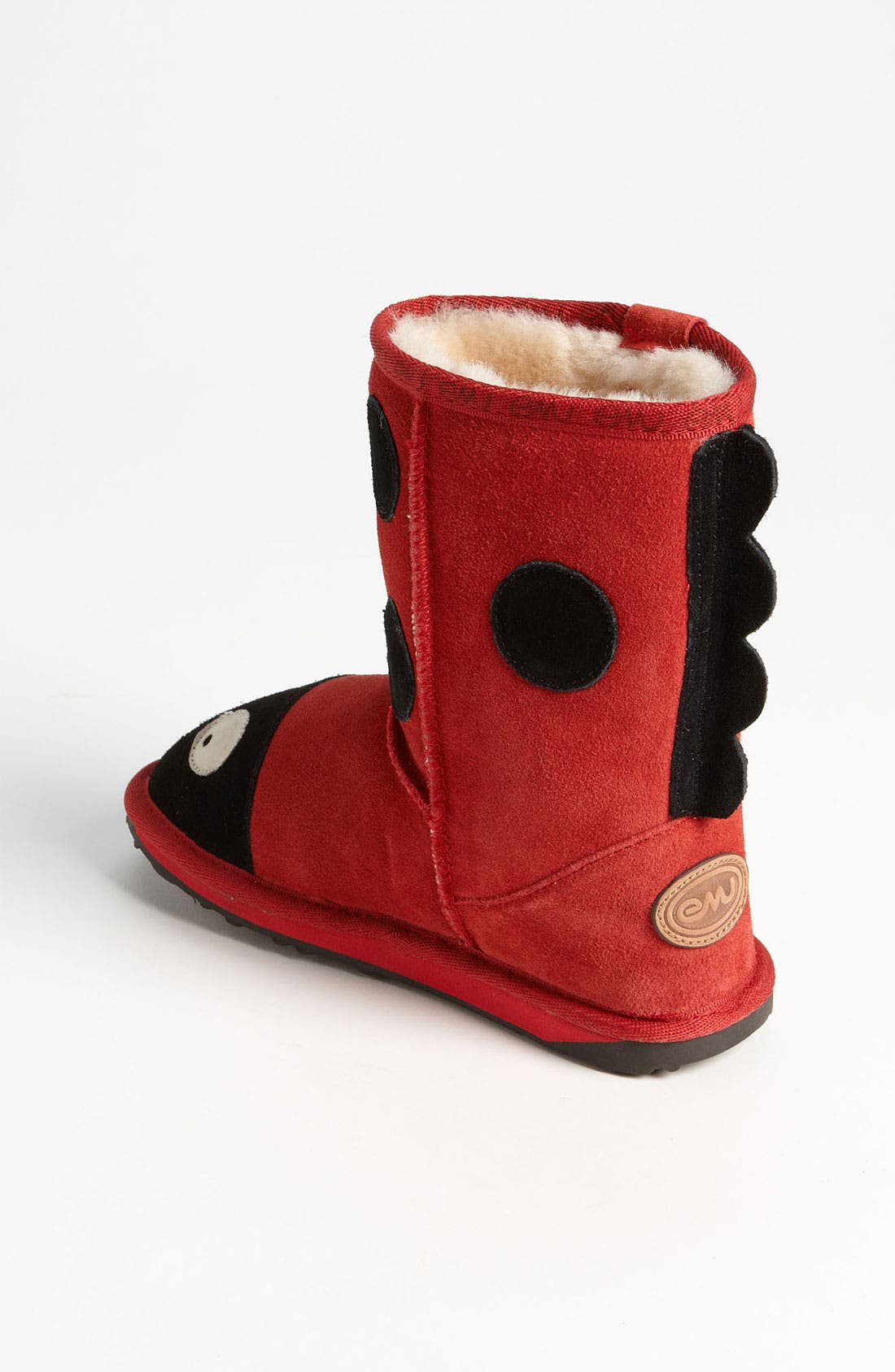 Little Creatures - Ladybug Boot,                             Alternate thumbnail 11, color,                             RED