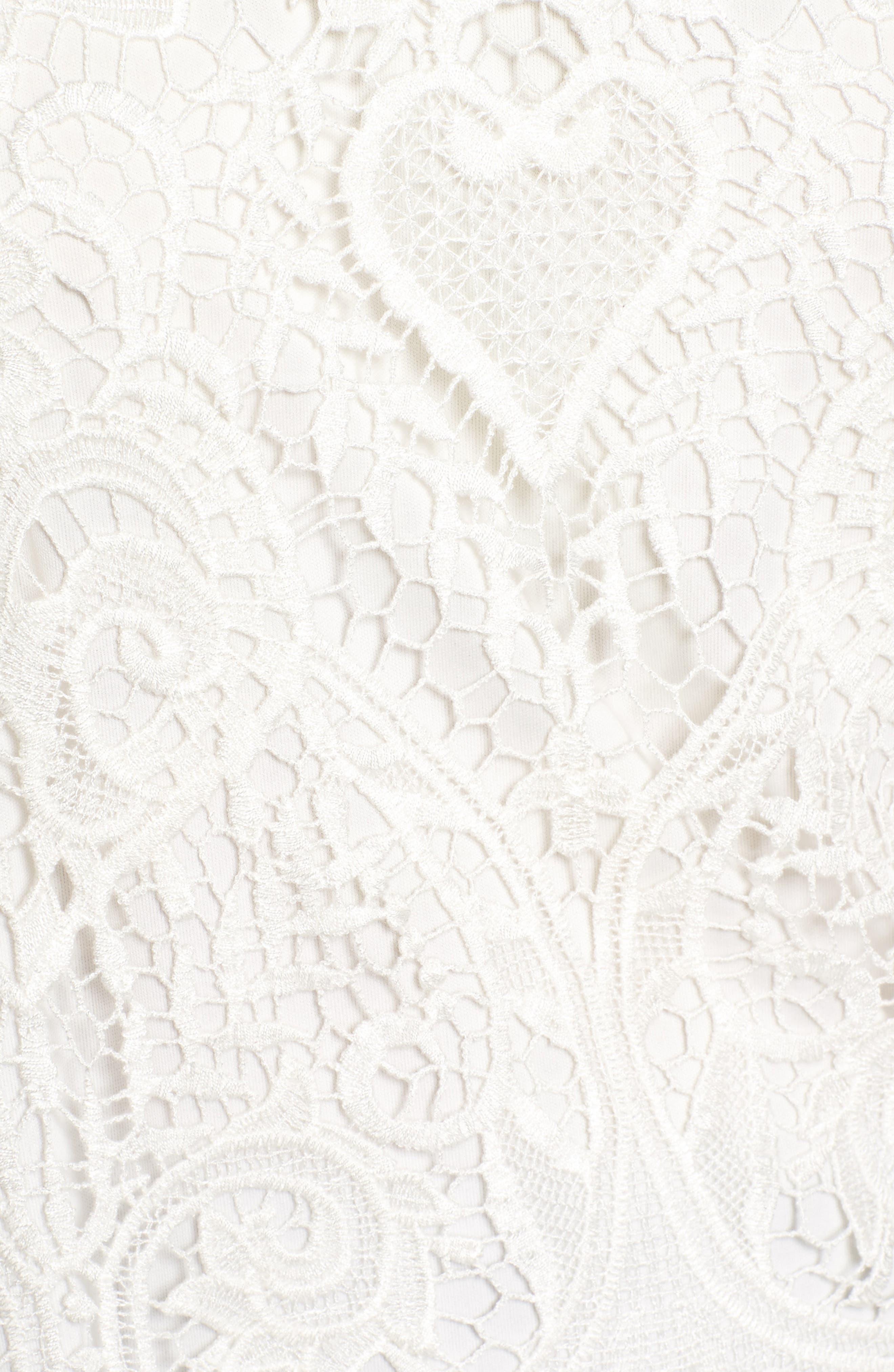 Lenox Lace Top,                             Alternate thumbnail 5, color,                             900