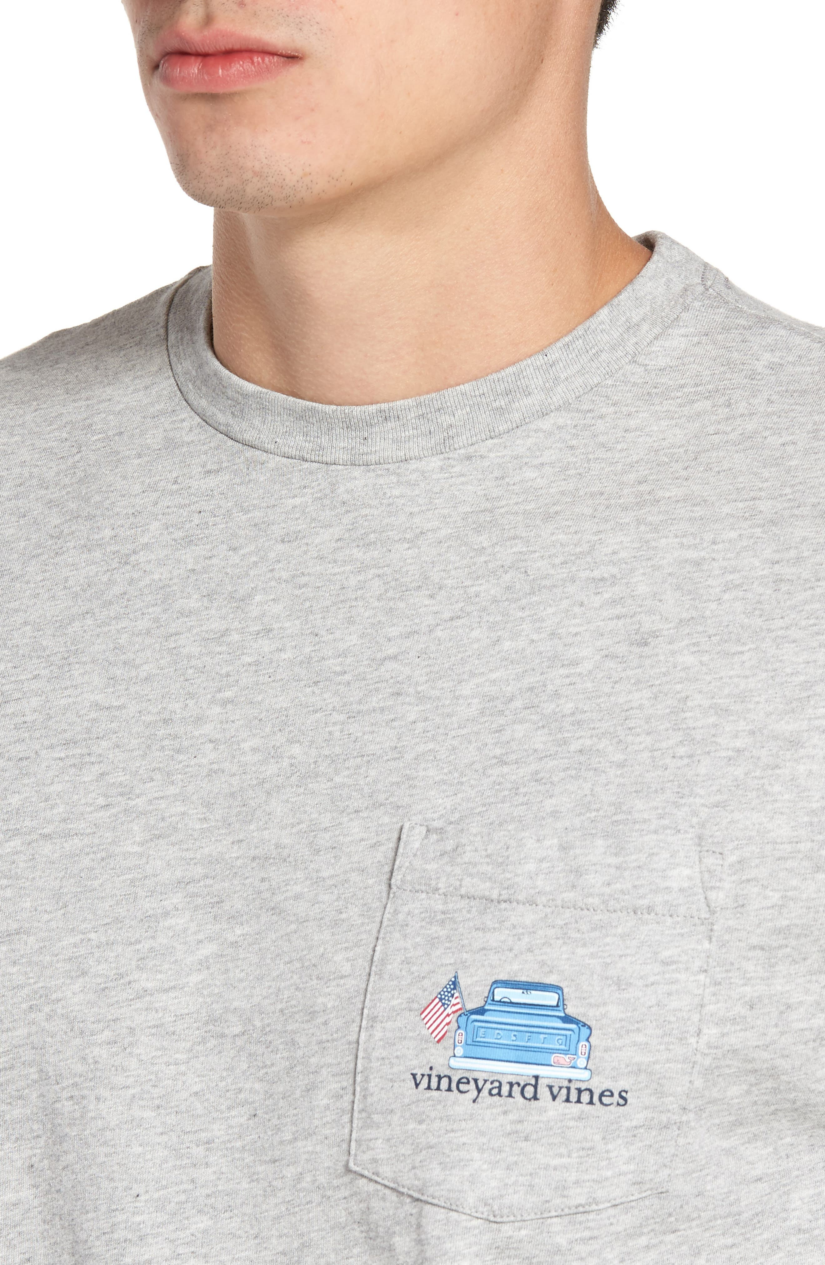 Americana Game Day Graphic Long Sleeve T-Shirt,                             Alternate thumbnail 4, color,                             039