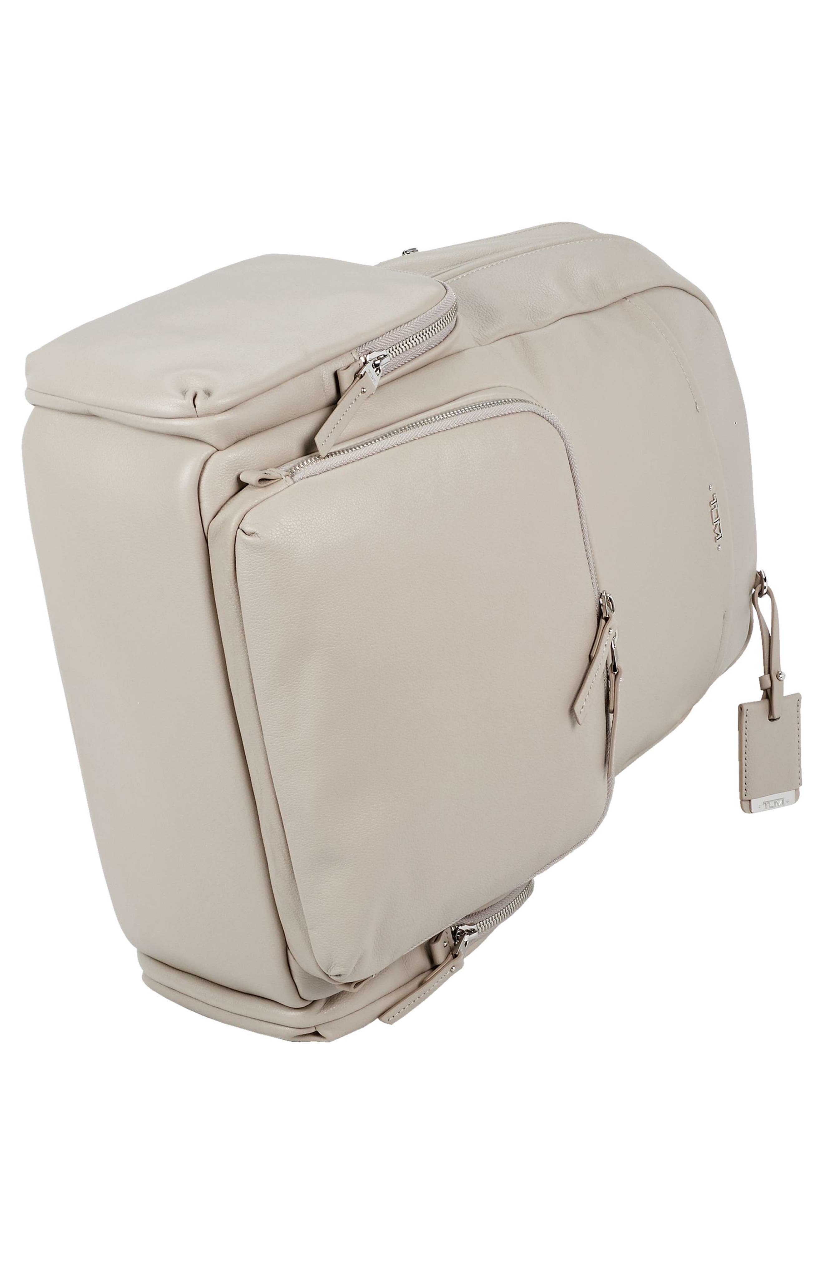 Calais Leather Computer Backpack,                             Alternate thumbnail 10, color,