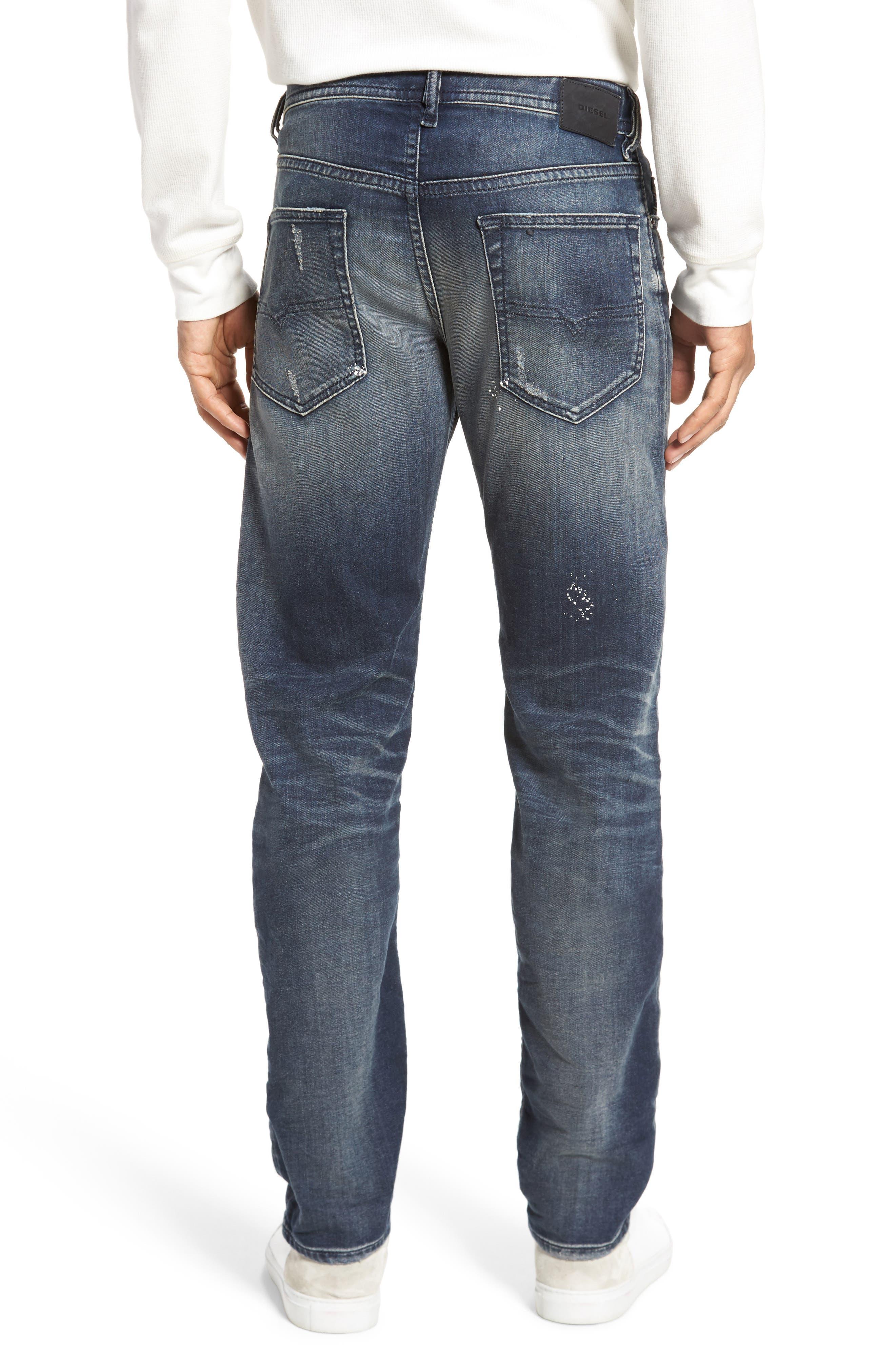 Buster Slim Straight Leg Jeans,                             Alternate thumbnail 2, color,                             400