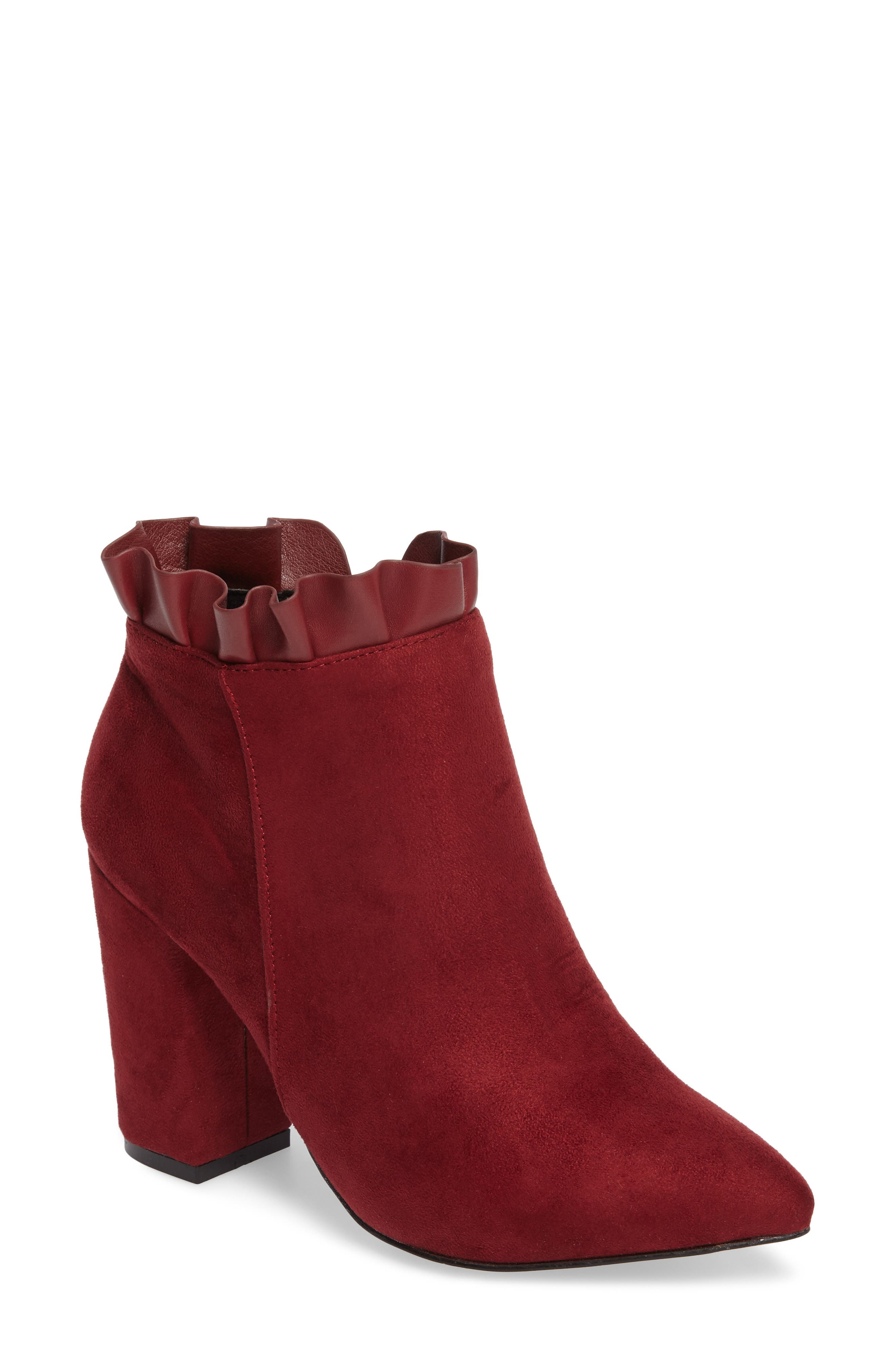 Katana Pointy Toe Bootie,                             Main thumbnail 3, color,