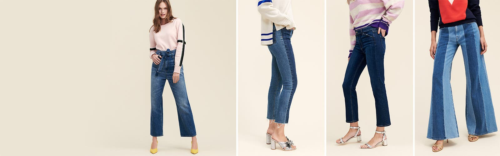 New year, new blues: women's jeans.