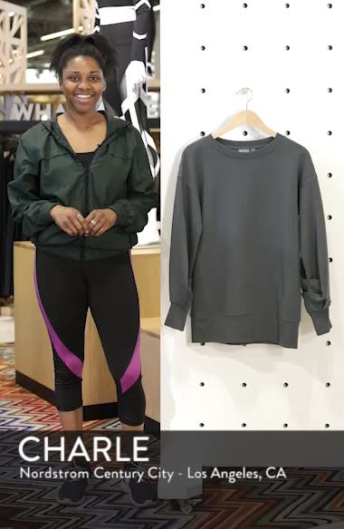 Boxy Oversize Sweatshirt, sales video thumbnail