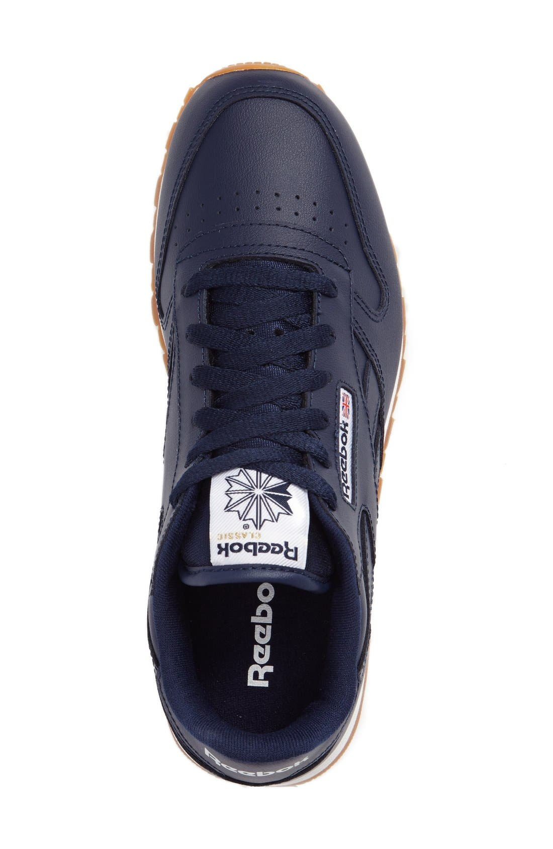 Classic Leather Sneaker,                             Alternate thumbnail 22, color,