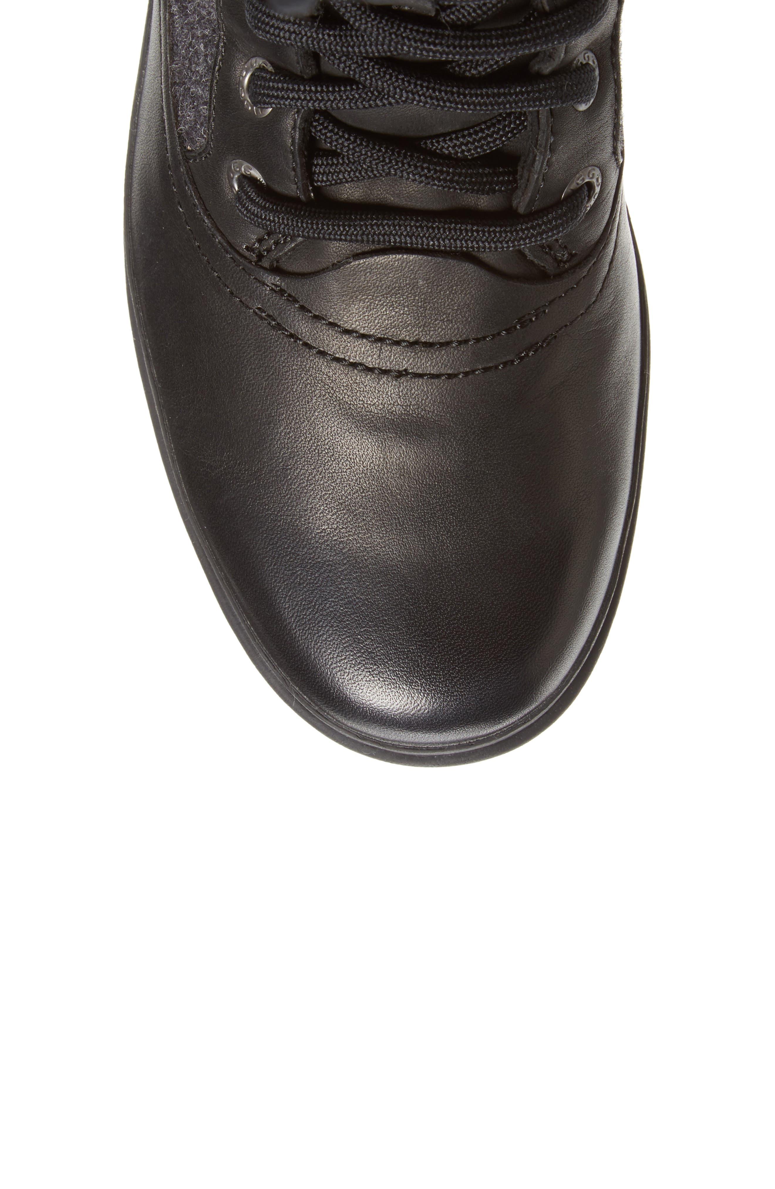 Elvia Waterproof Tall Boot,                             Alternate thumbnail 5, color,                             001