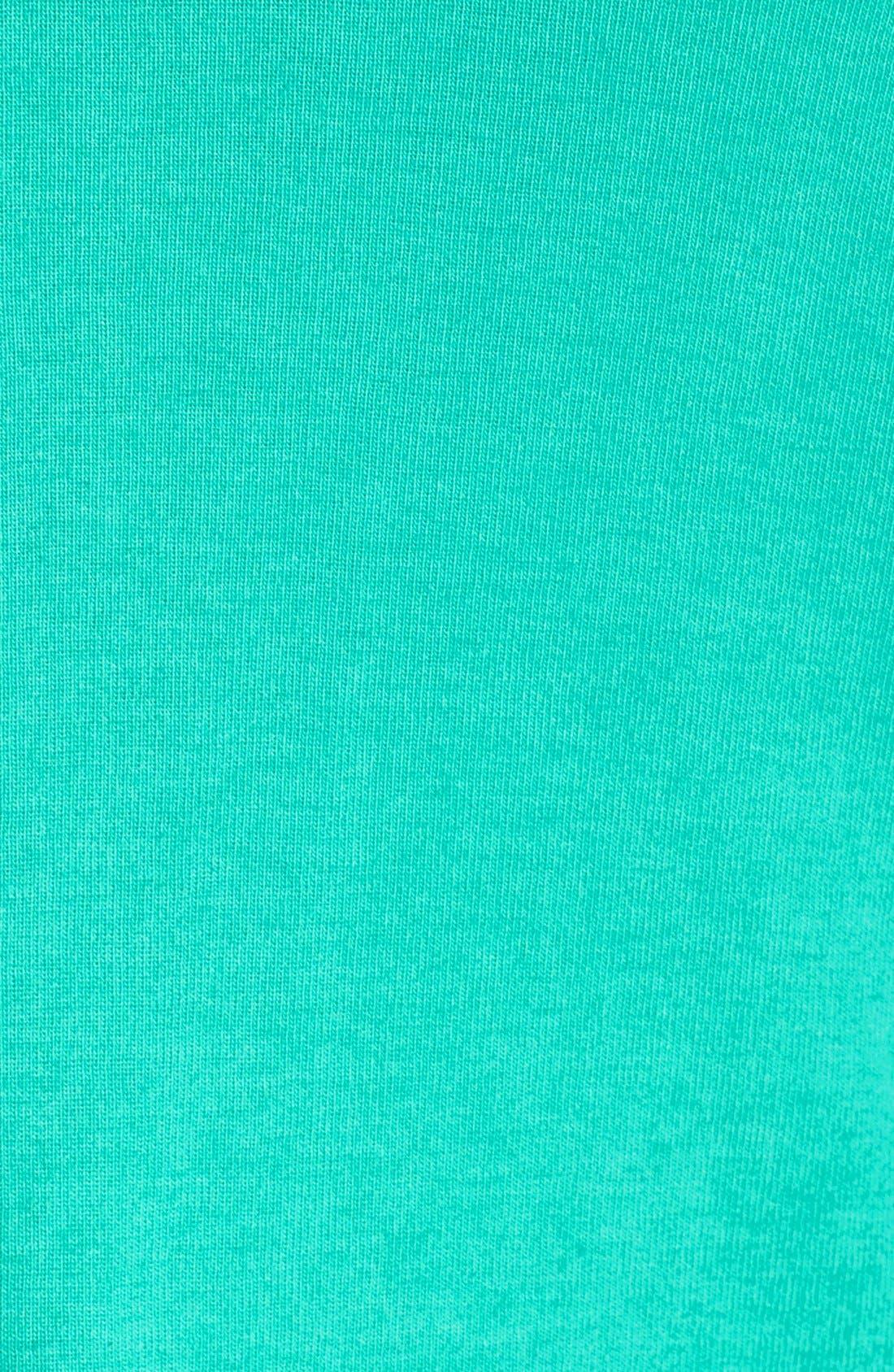 Short Sleeve V-Neck Tee,                             Alternate thumbnail 153, color,