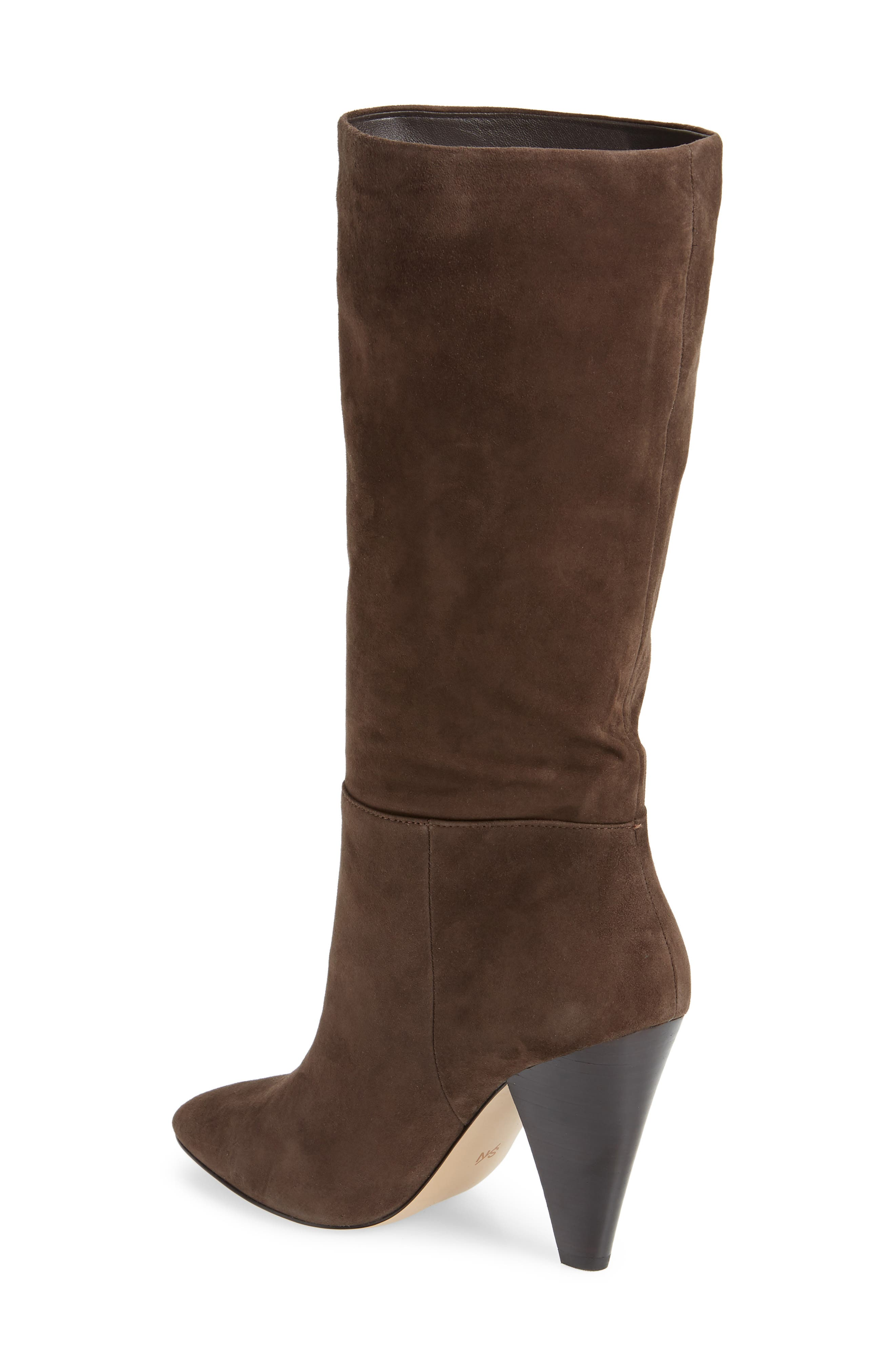 Parker Suede Boot,                             Alternate thumbnail 3, color,                             CHOCOLATE SUEDE
