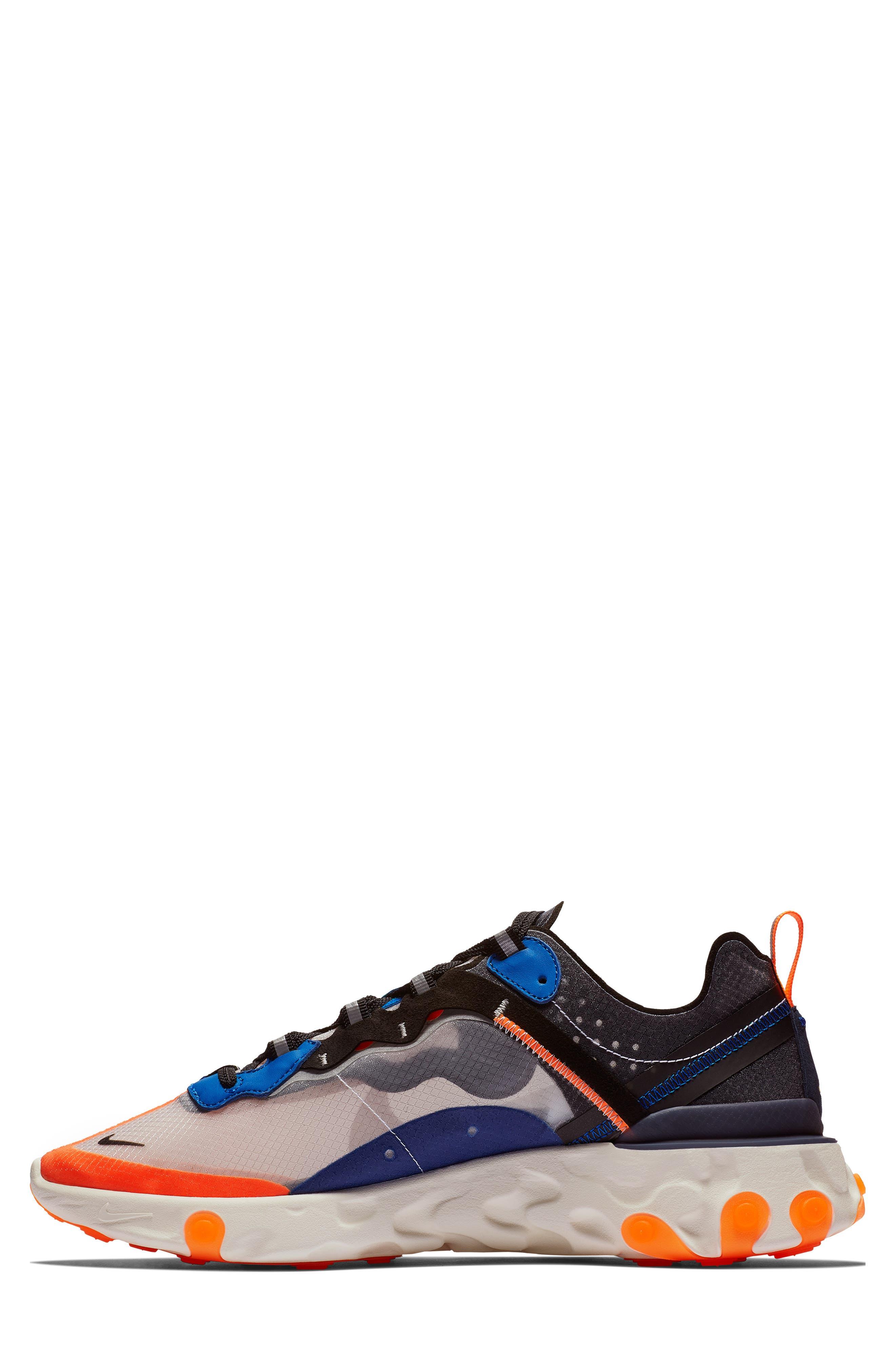 React Element 87 Sneaker,                             Alternate thumbnail 3, color,                             021