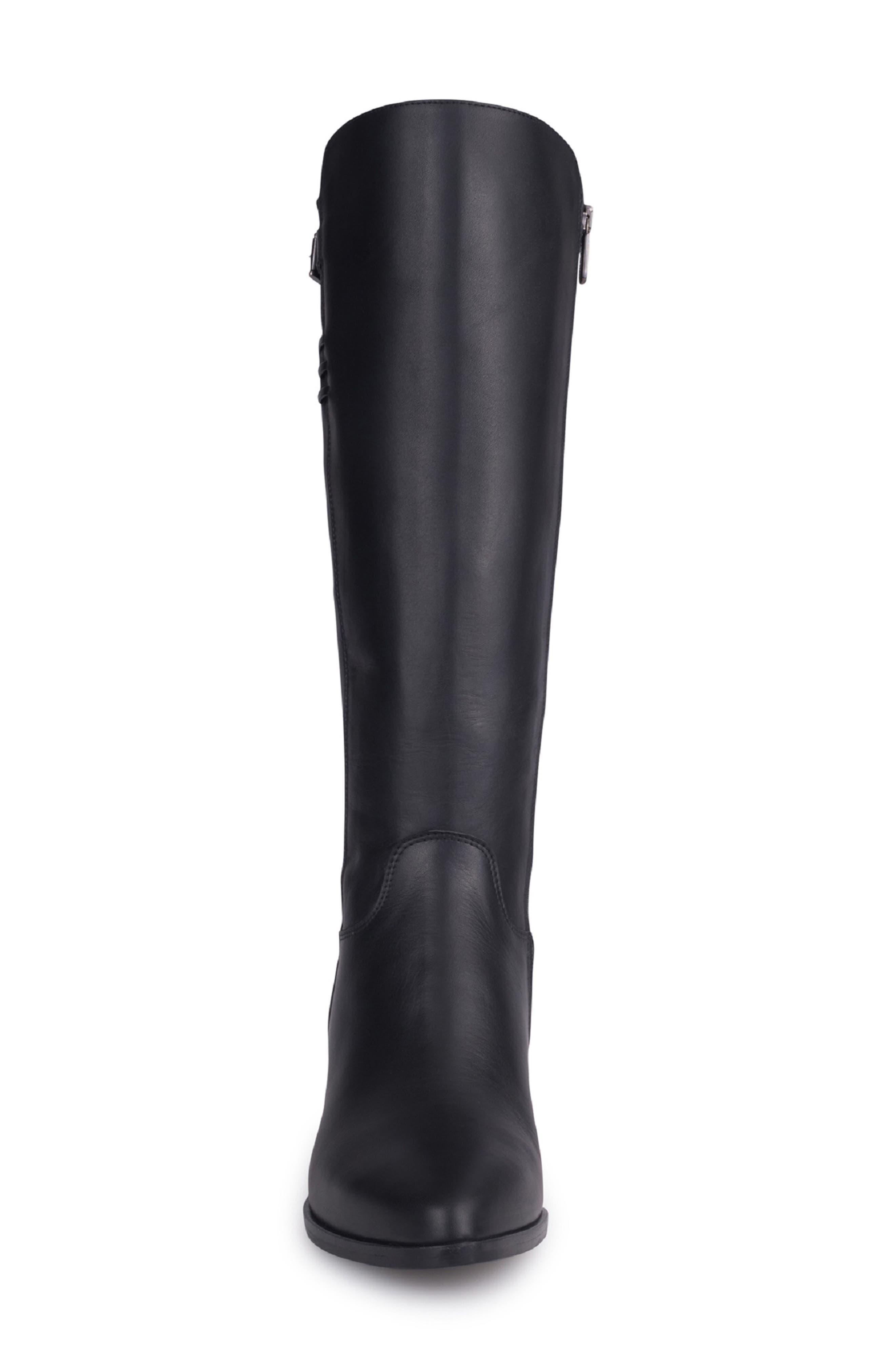 Giacinta Waterproof Knee High Boot,                             Alternate thumbnail 4, color,                             010