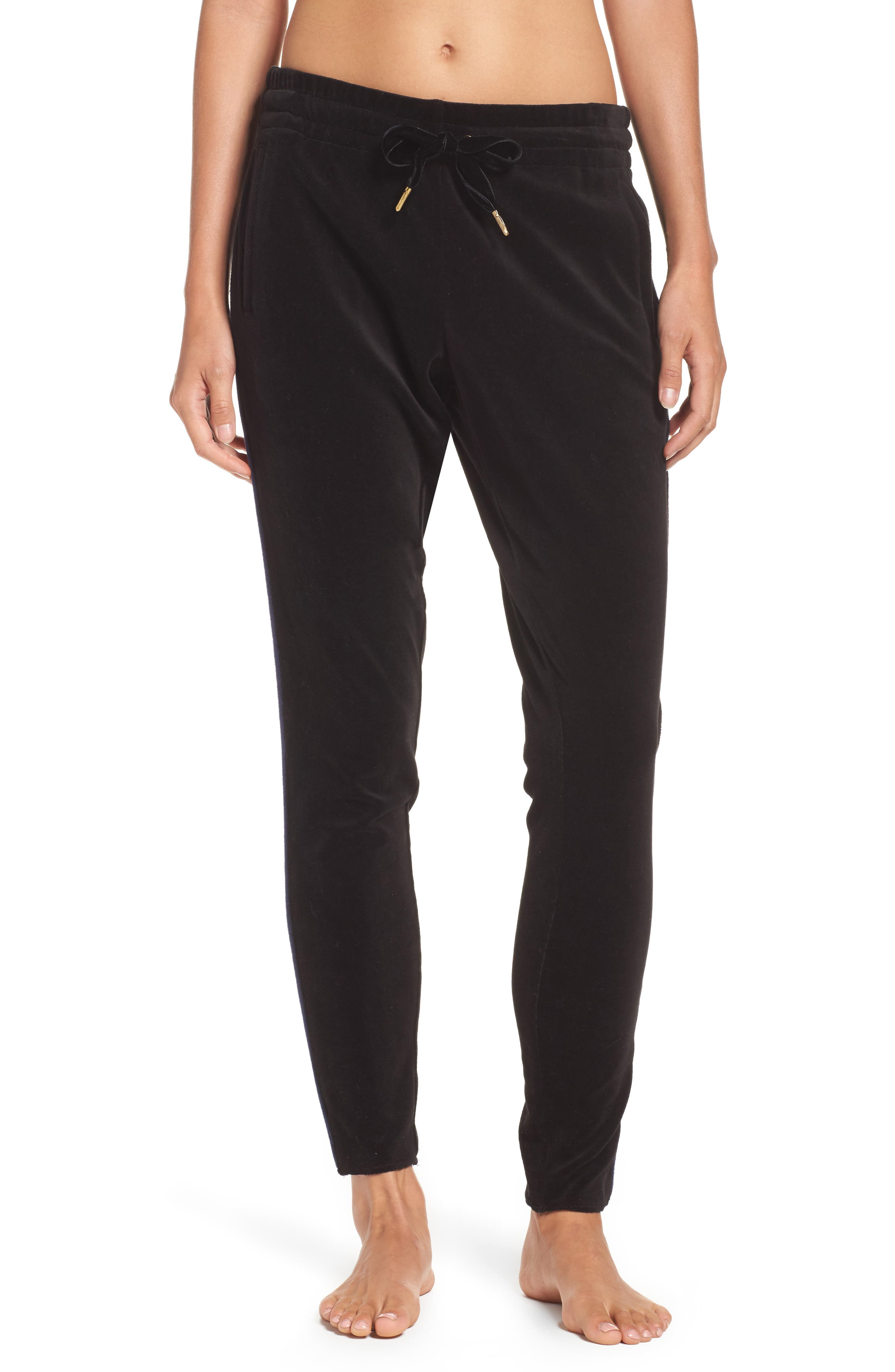 Velour Sweatpants,                         Main,                         color, 001