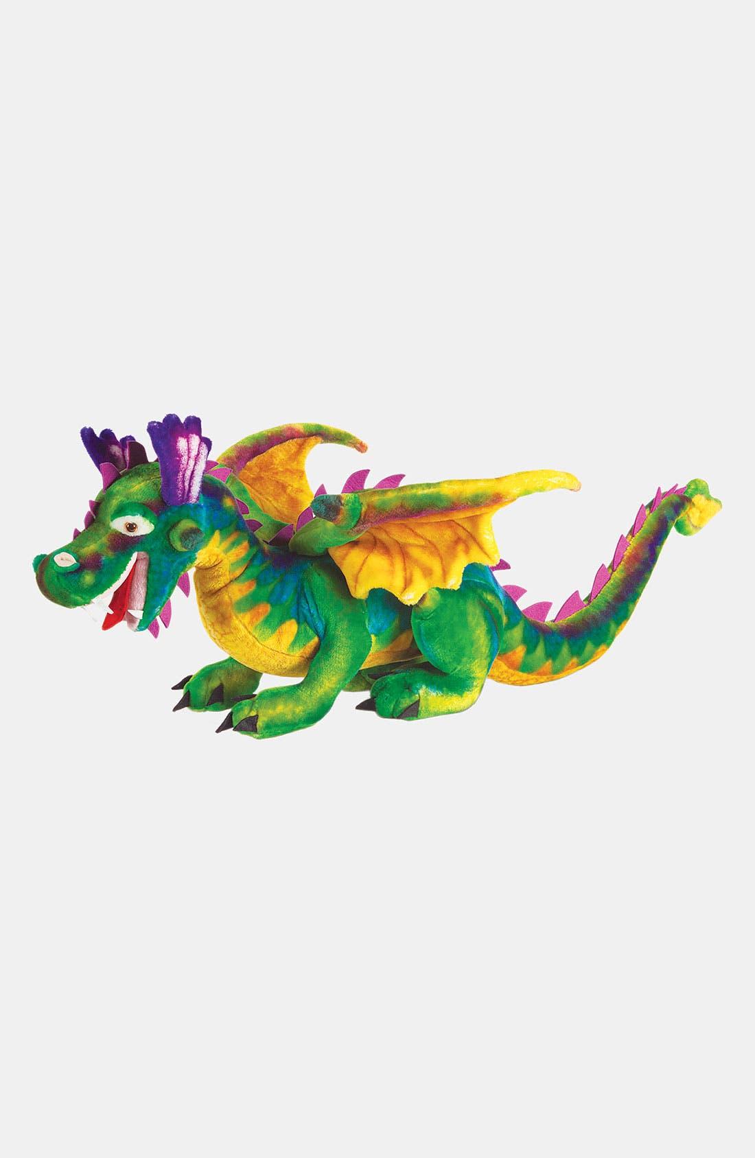 Oversized Plush Stuffed Dragon,                             Alternate thumbnail 2, color,                             VARIOUS