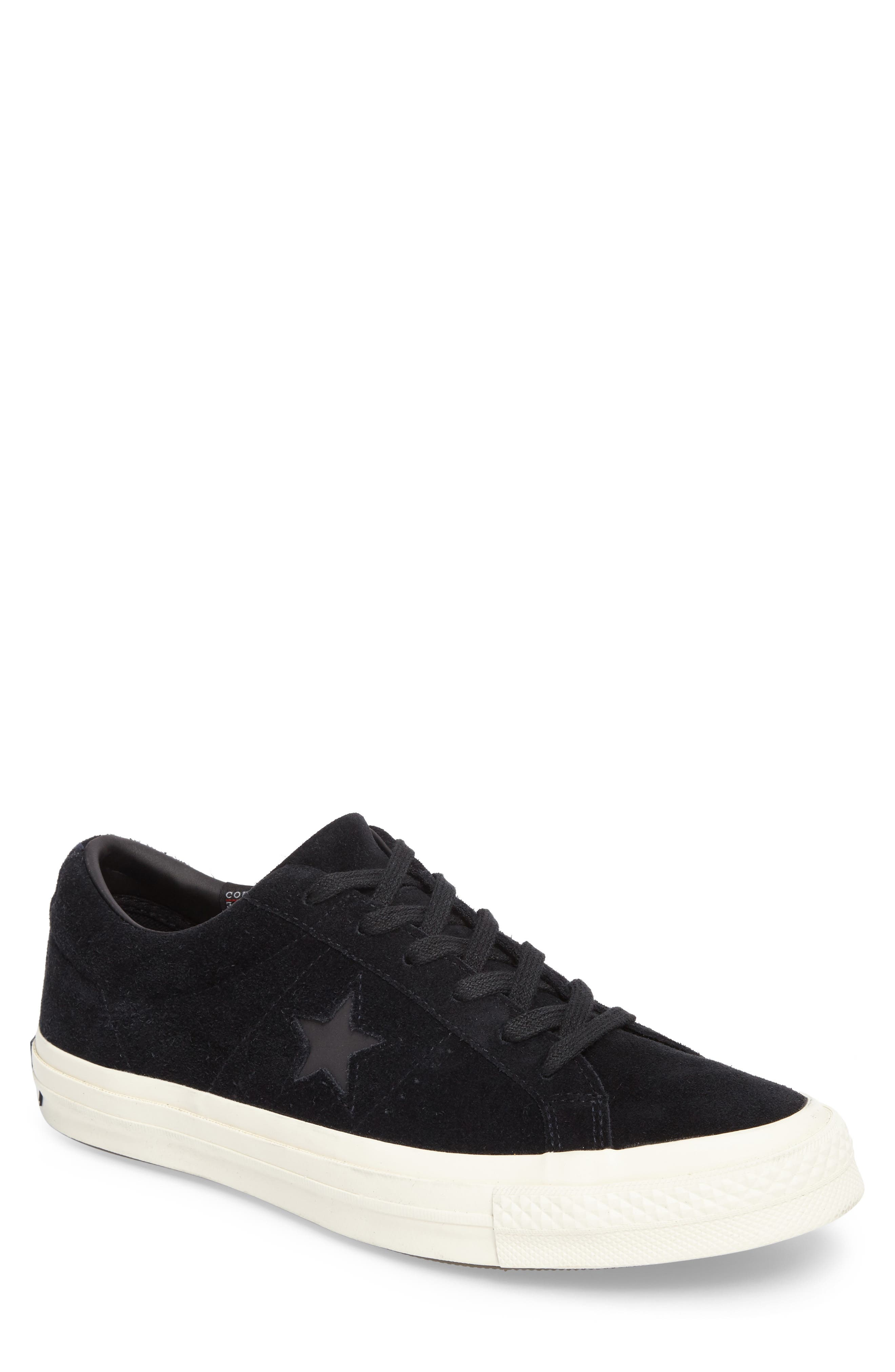 CONVERSE,                             One Star Sneaker,                             Main thumbnail 1, color,                             001