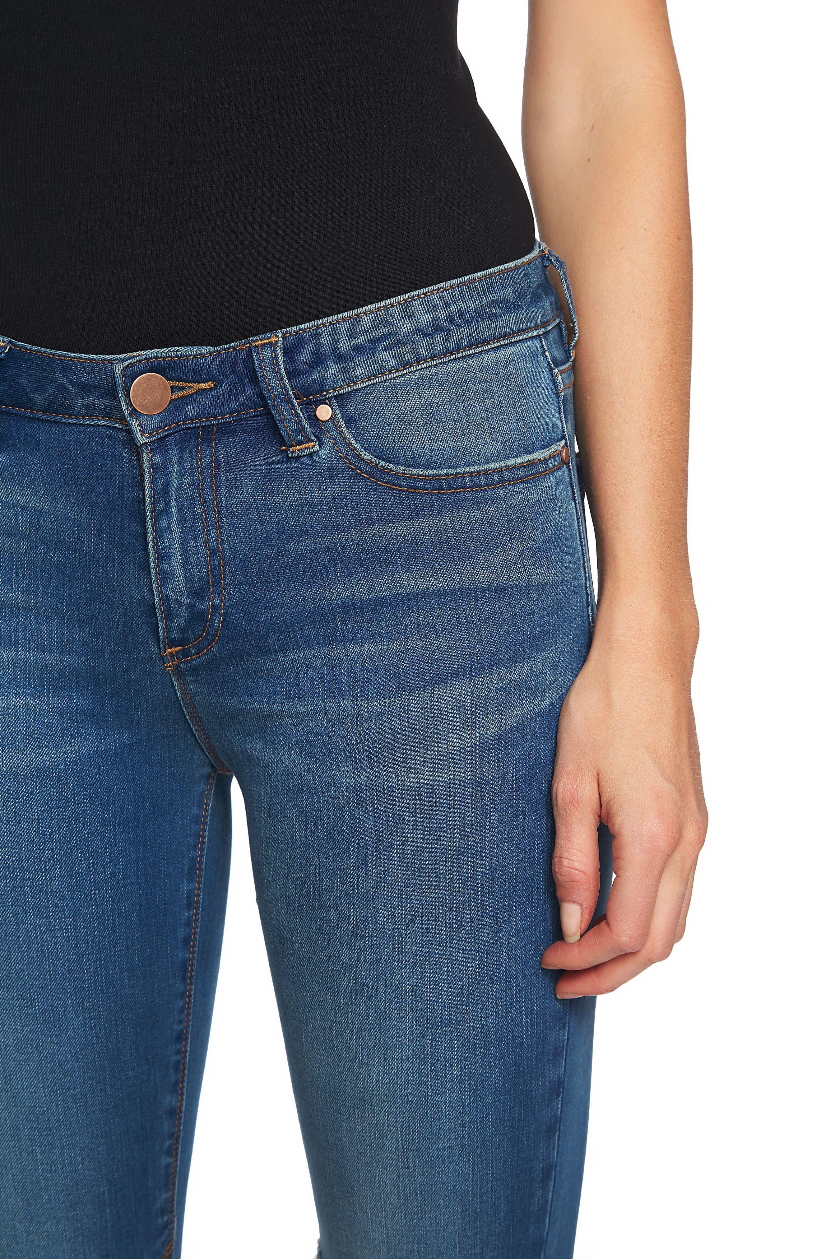 Ankle Skinny Jeans,                             Alternate thumbnail 6, color,