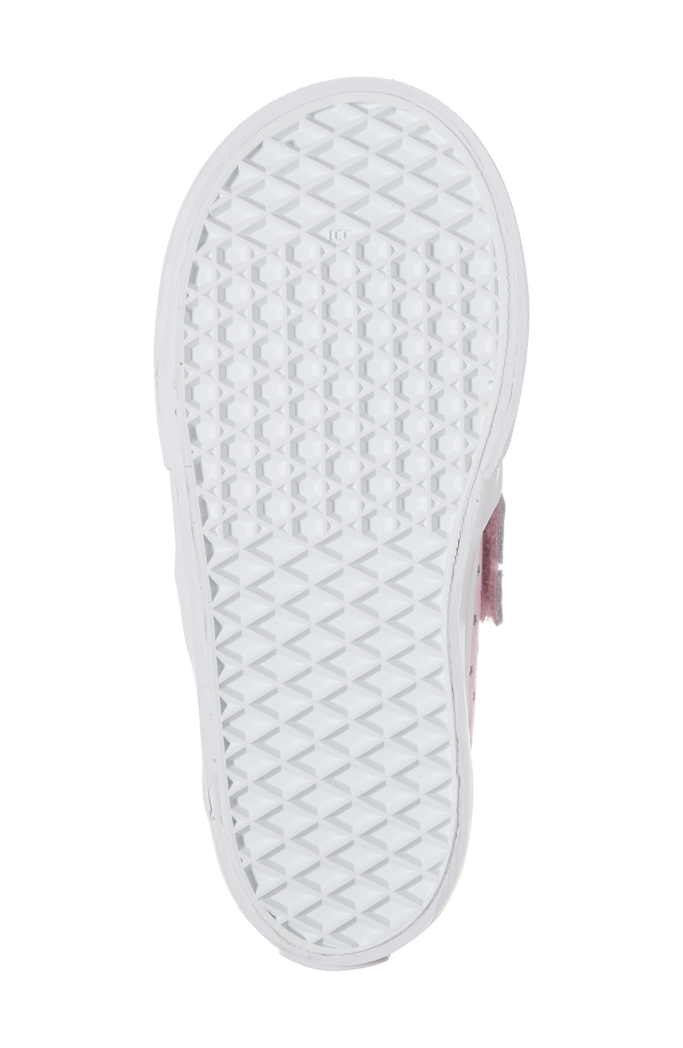 Classic Perforated Slip-On Sneaker,                             Alternate thumbnail 6, color,                             650