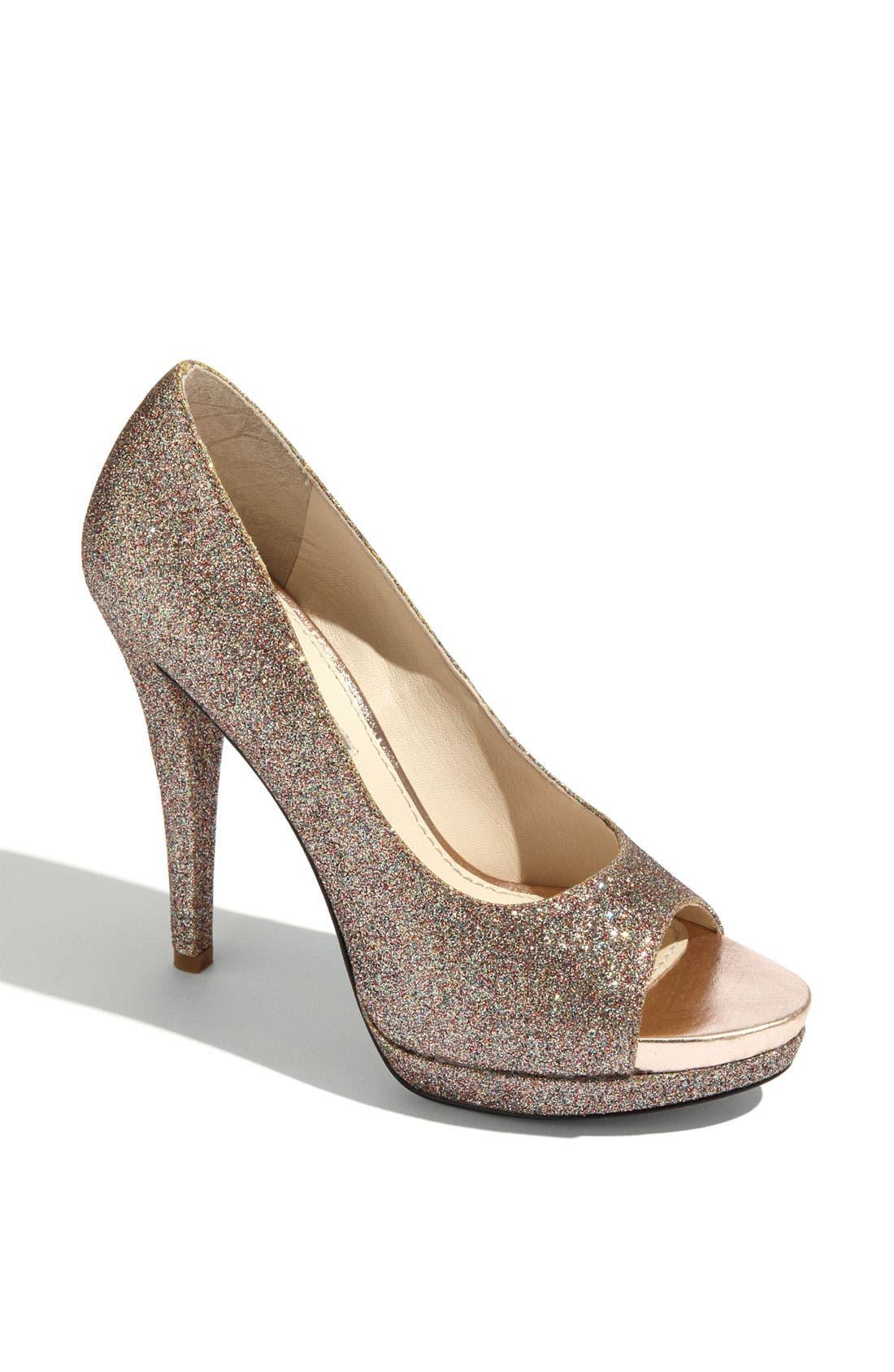 Footwear 'Selima' Peep Toe Pump,                             Main thumbnail 5, color,