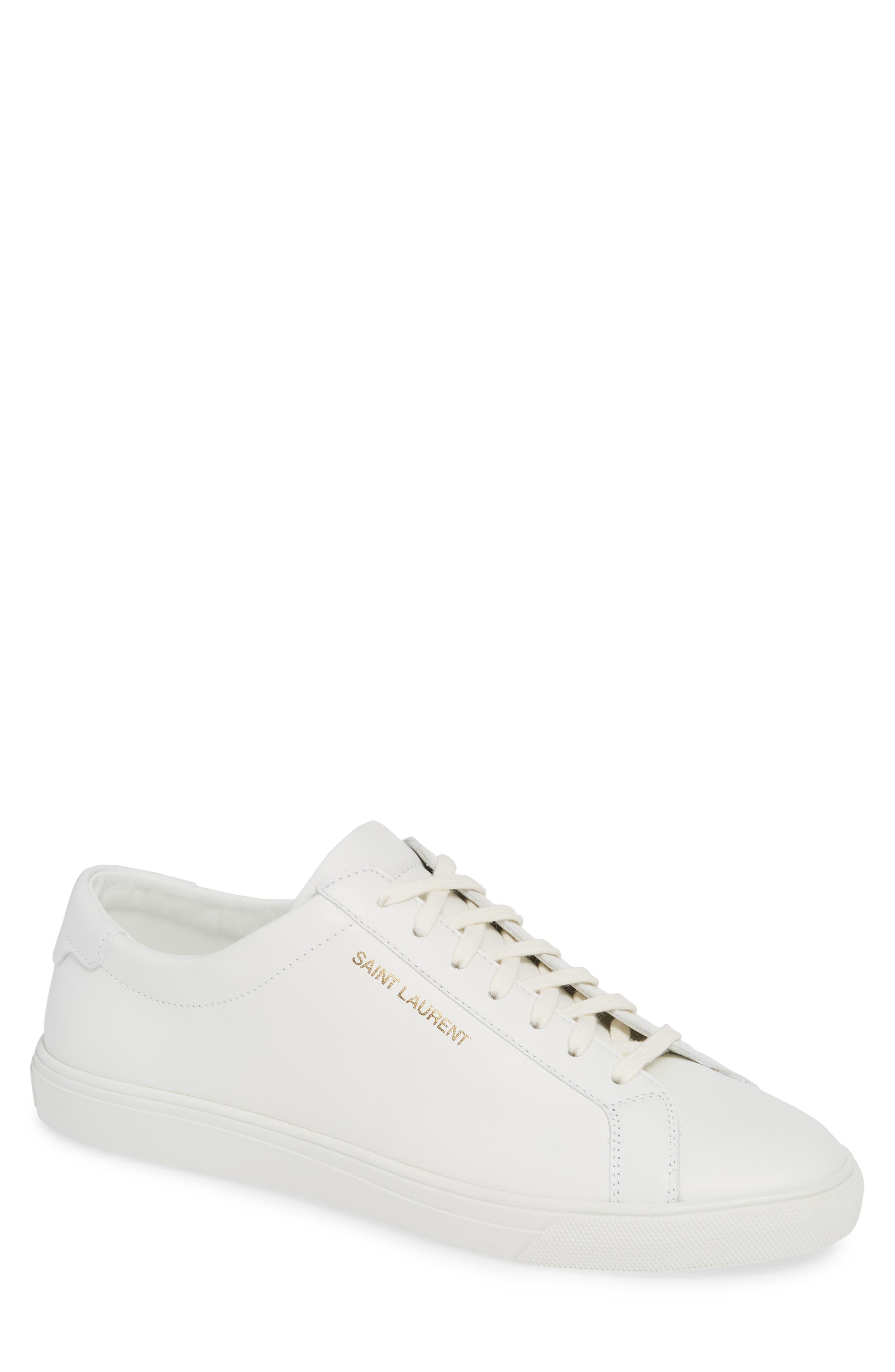Andy Low Top Sneaker,                             Main thumbnail 1, color,                             BLANC OPTIQUE