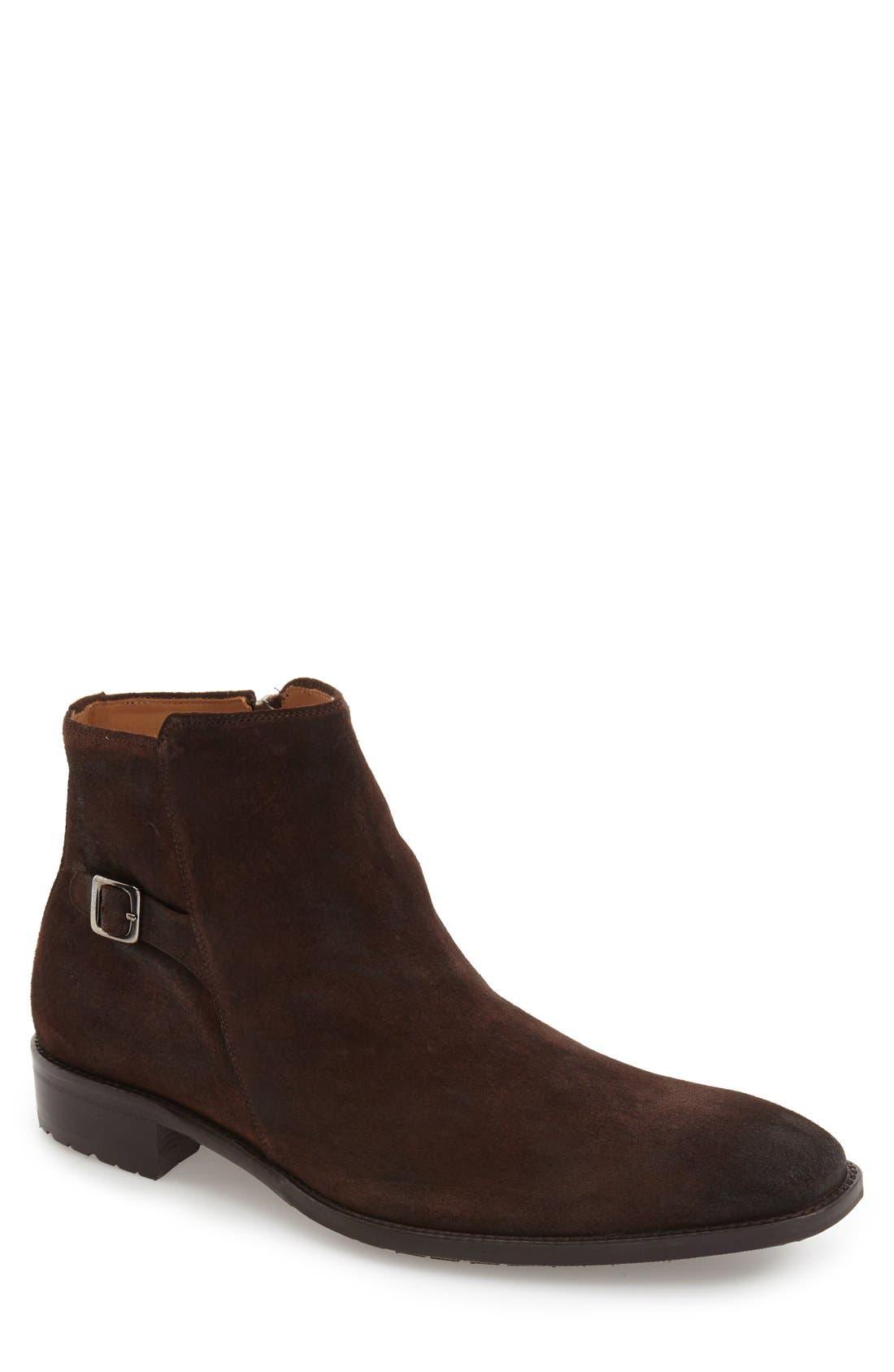 'Elva' Zip Boot,                         Main,                         color,