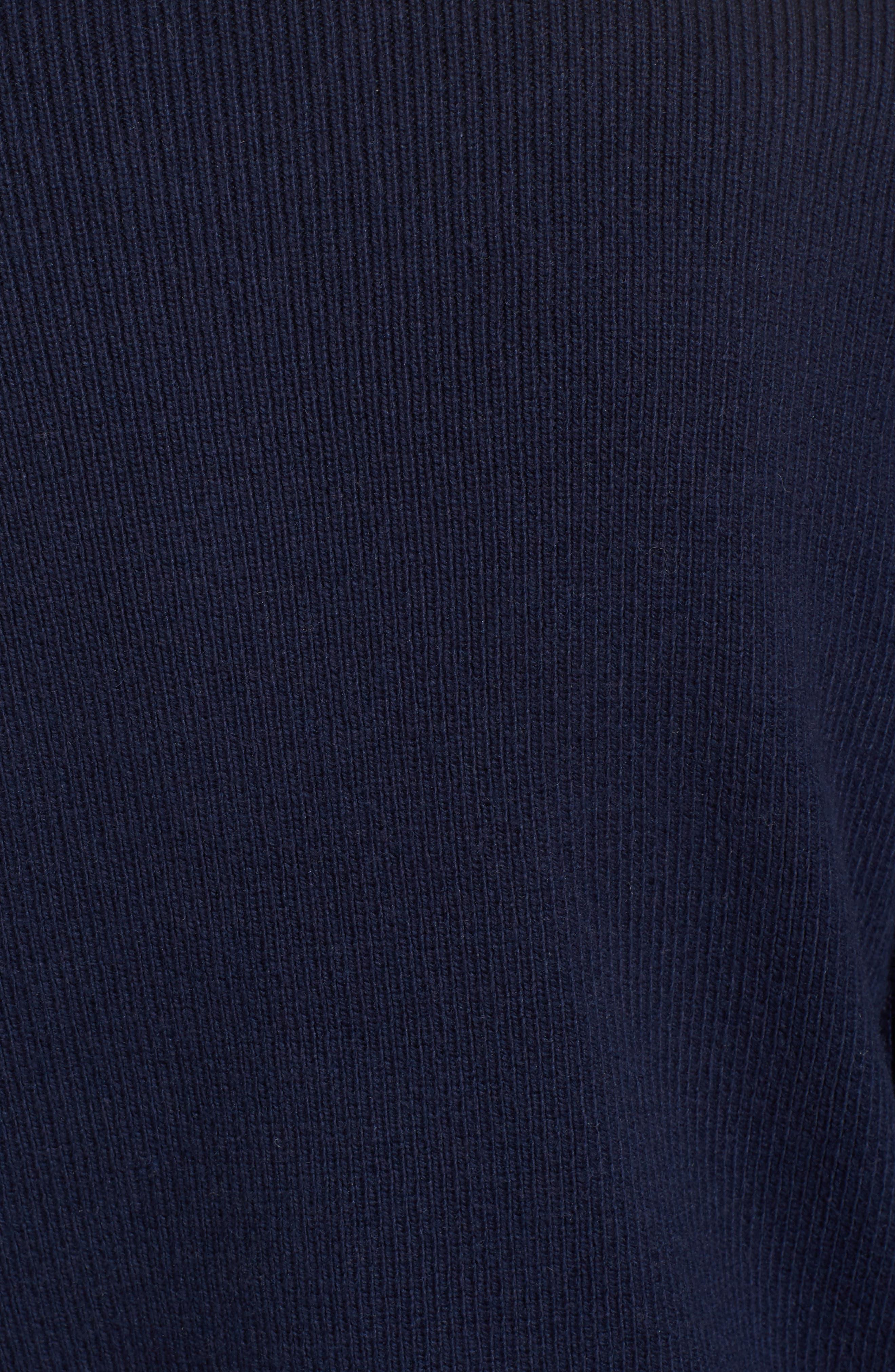 Ruffle Sleeve Sweater,                             Alternate thumbnail 19, color,