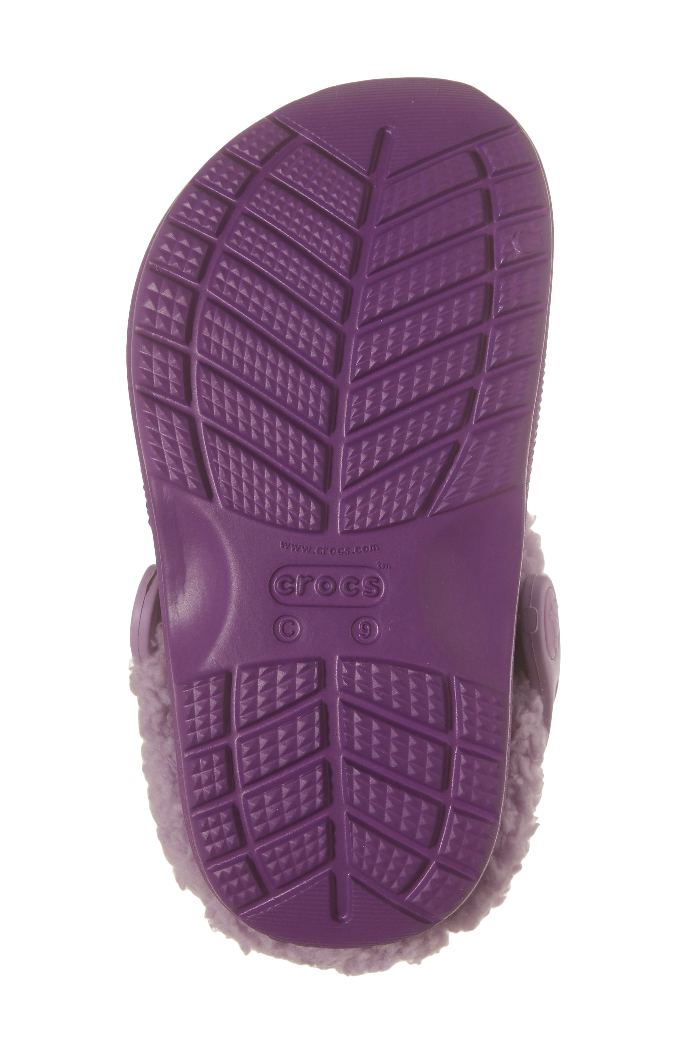 Classic Blitzen III Faux Fur Graphic Clog,                             Alternate thumbnail 6, color,                             538