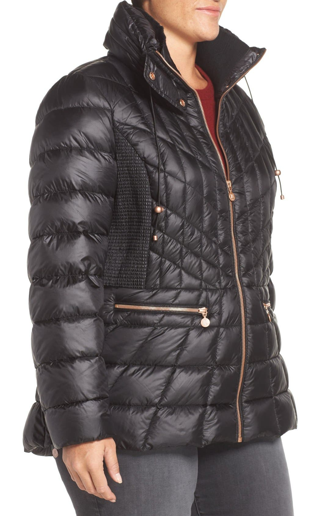 Packable Jacket with Down & PrimaLoft<sup>®</sup> Fill,                             Alternate thumbnail 3, color,                             005
