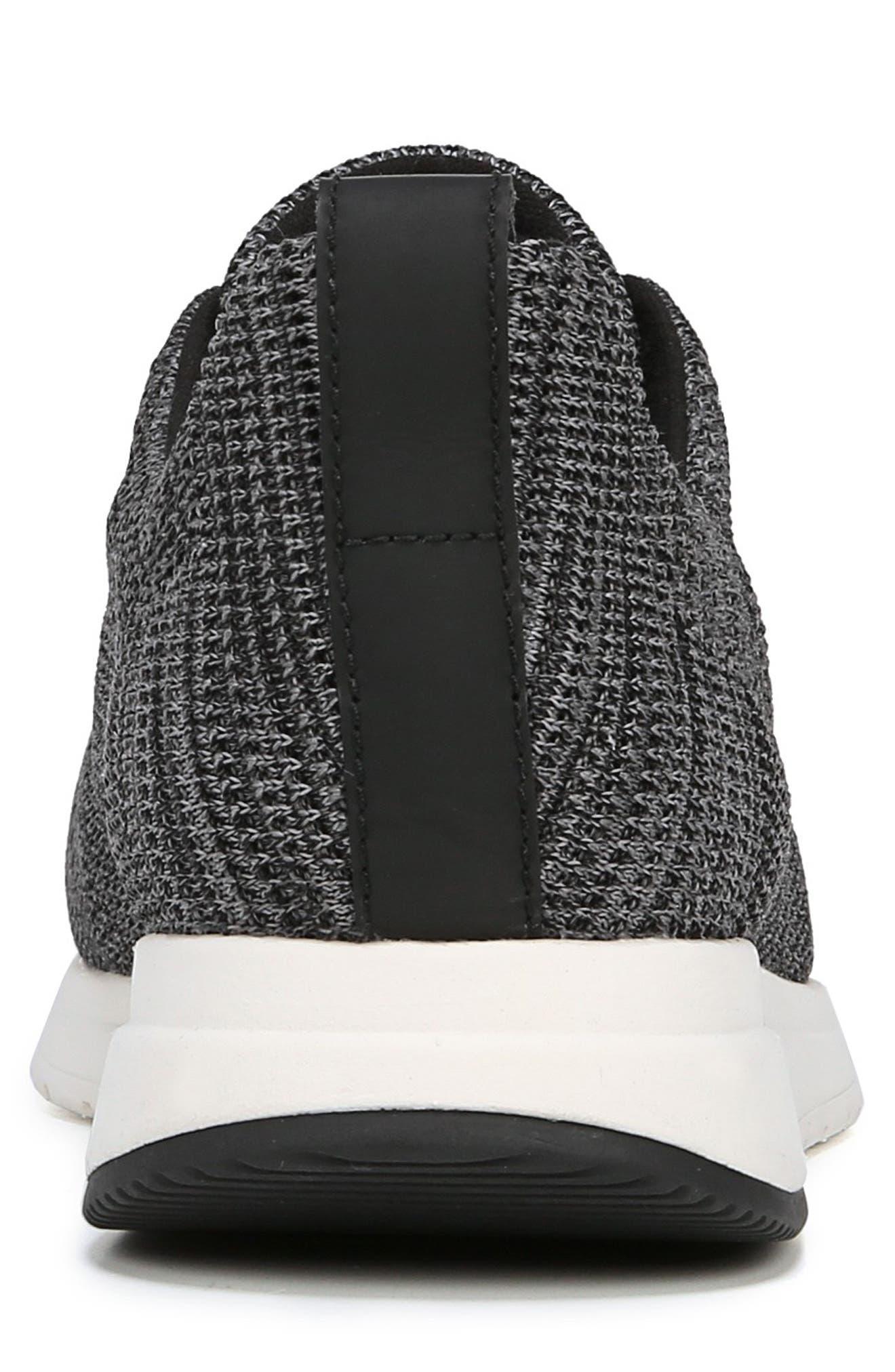Palo Knit Sneaker,                             Alternate thumbnail 7, color,                             MARL GREY/ BLACK