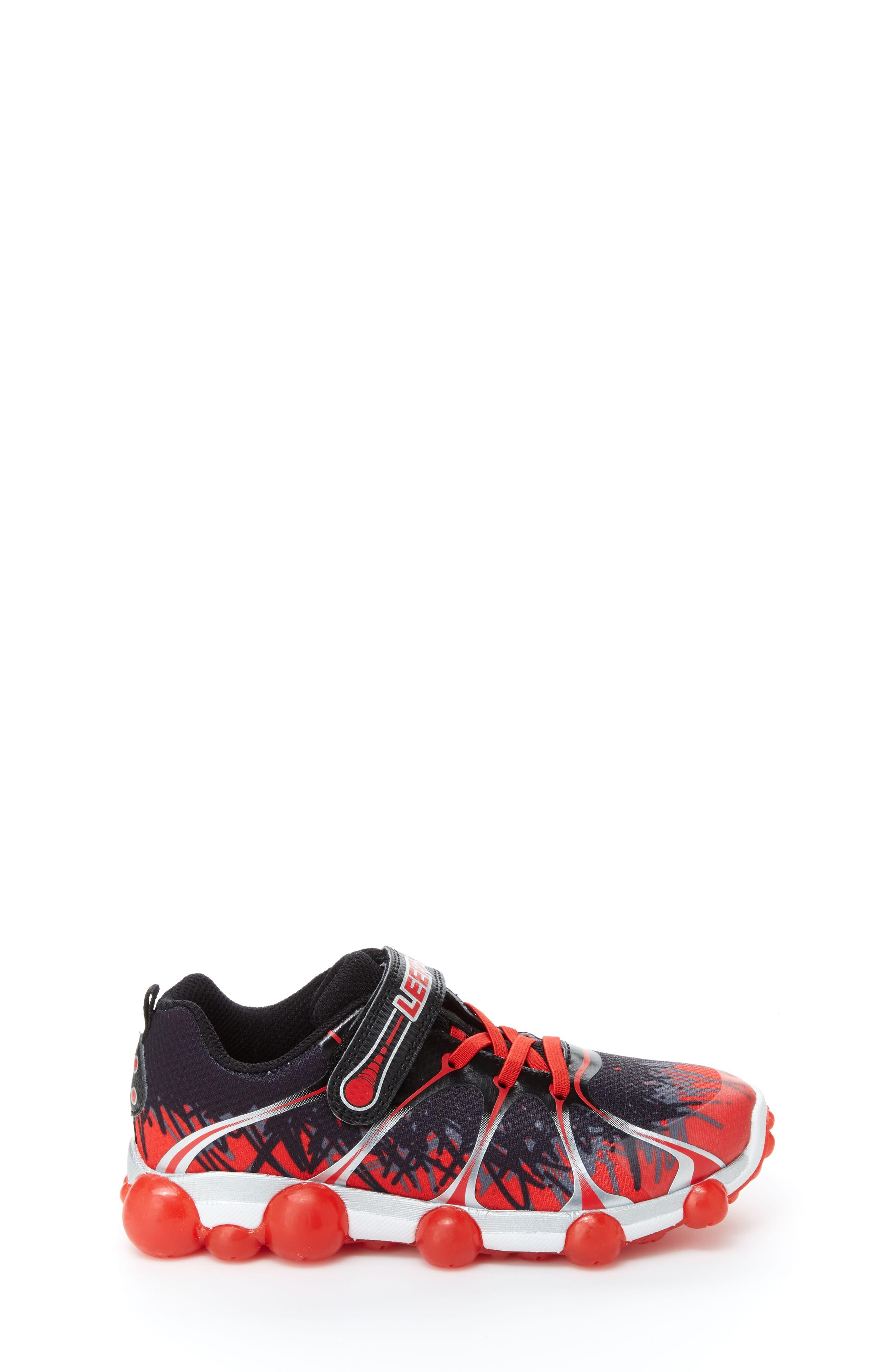 'Leepz' Light-Up Sneaker,                             Alternate thumbnail 15, color,