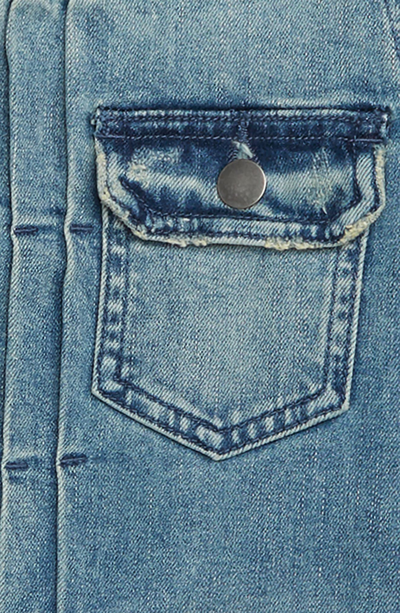 Denim Jacket,                             Alternate thumbnail 2, color,                             420