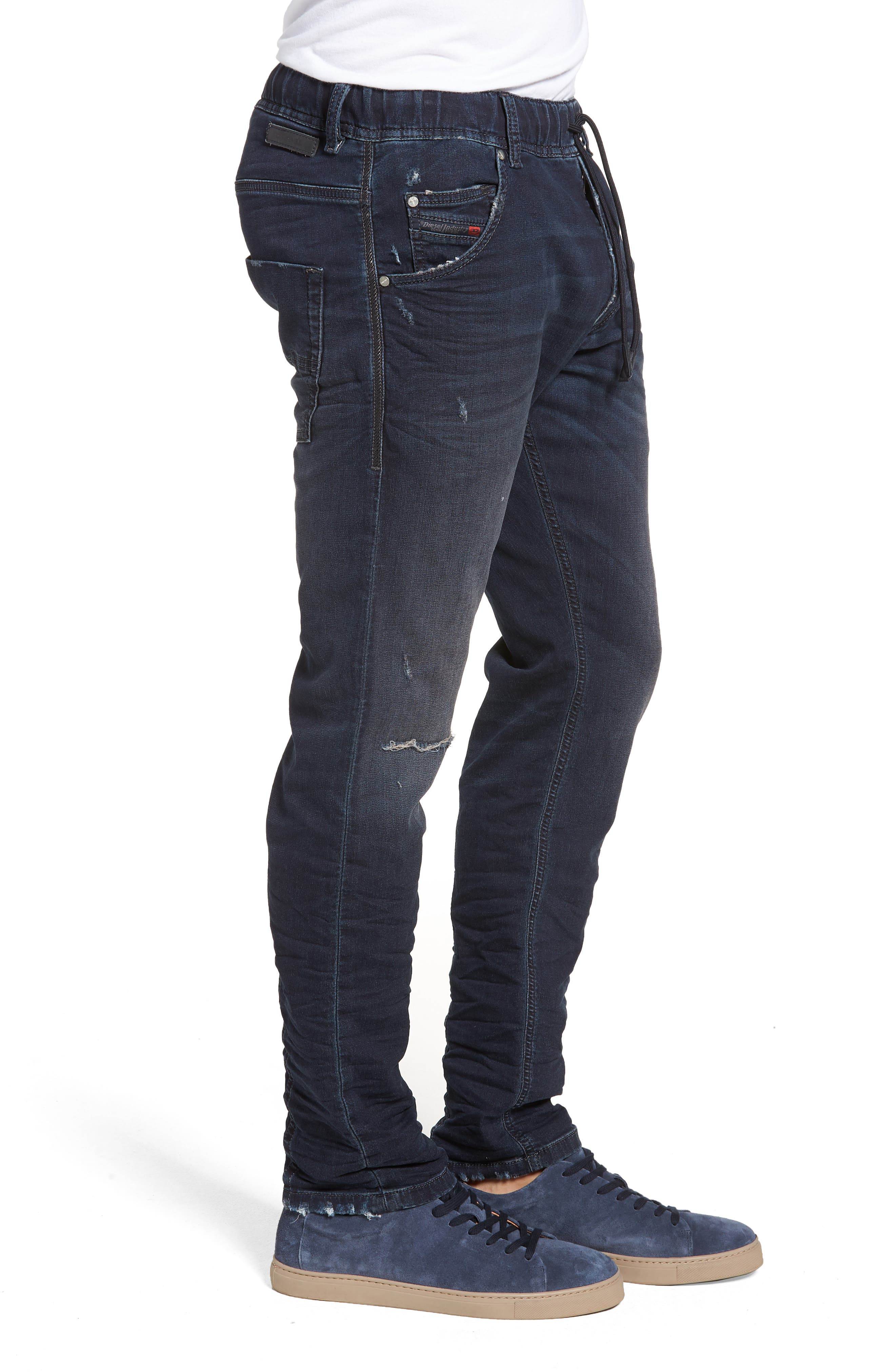 Krooley Skinny Slouchy Fit Jeans,                             Alternate thumbnail 3, color,                             0699W