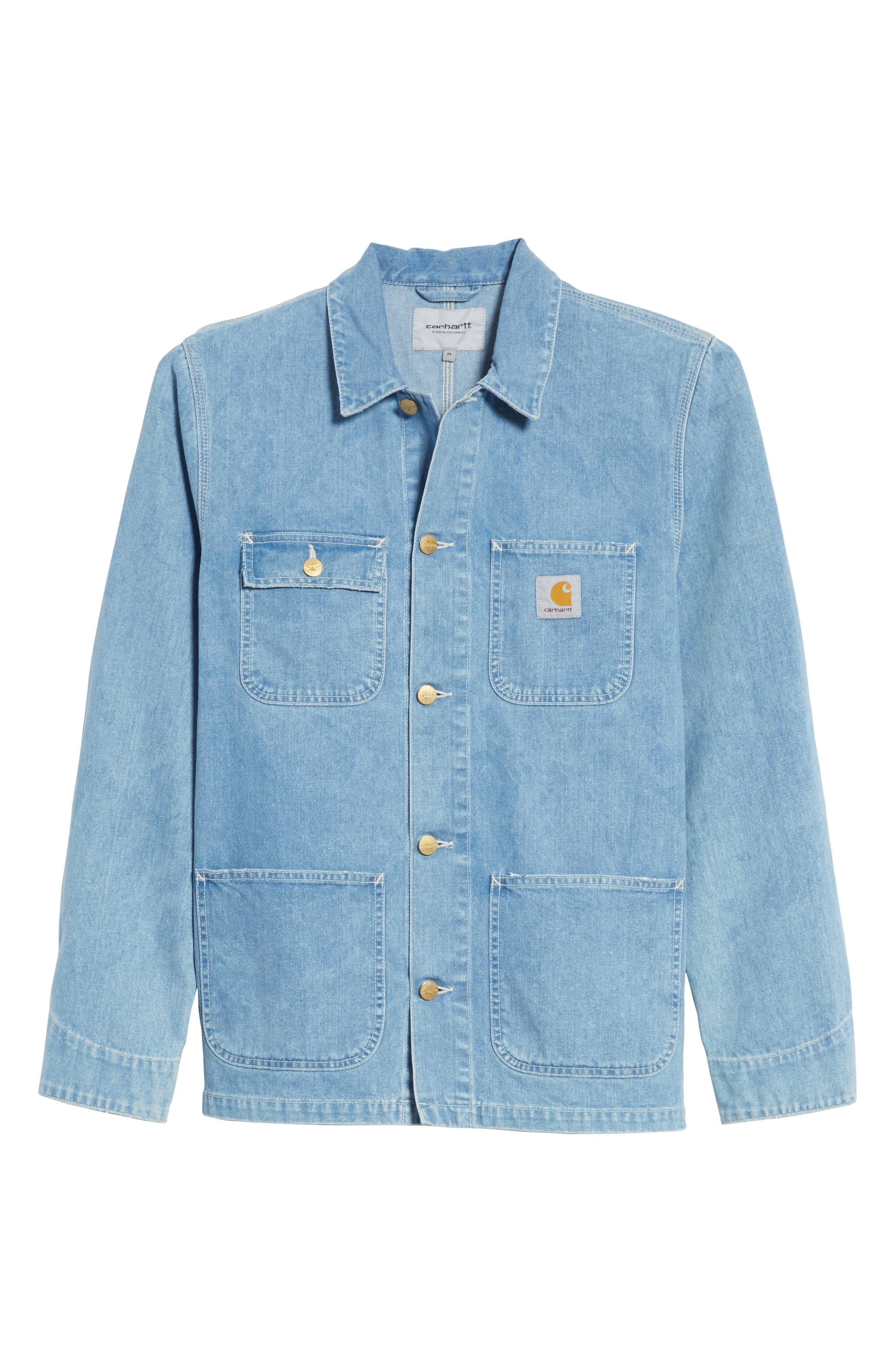 Michigan Norco Denim Chore Jacket,                             Alternate thumbnail 5, color,