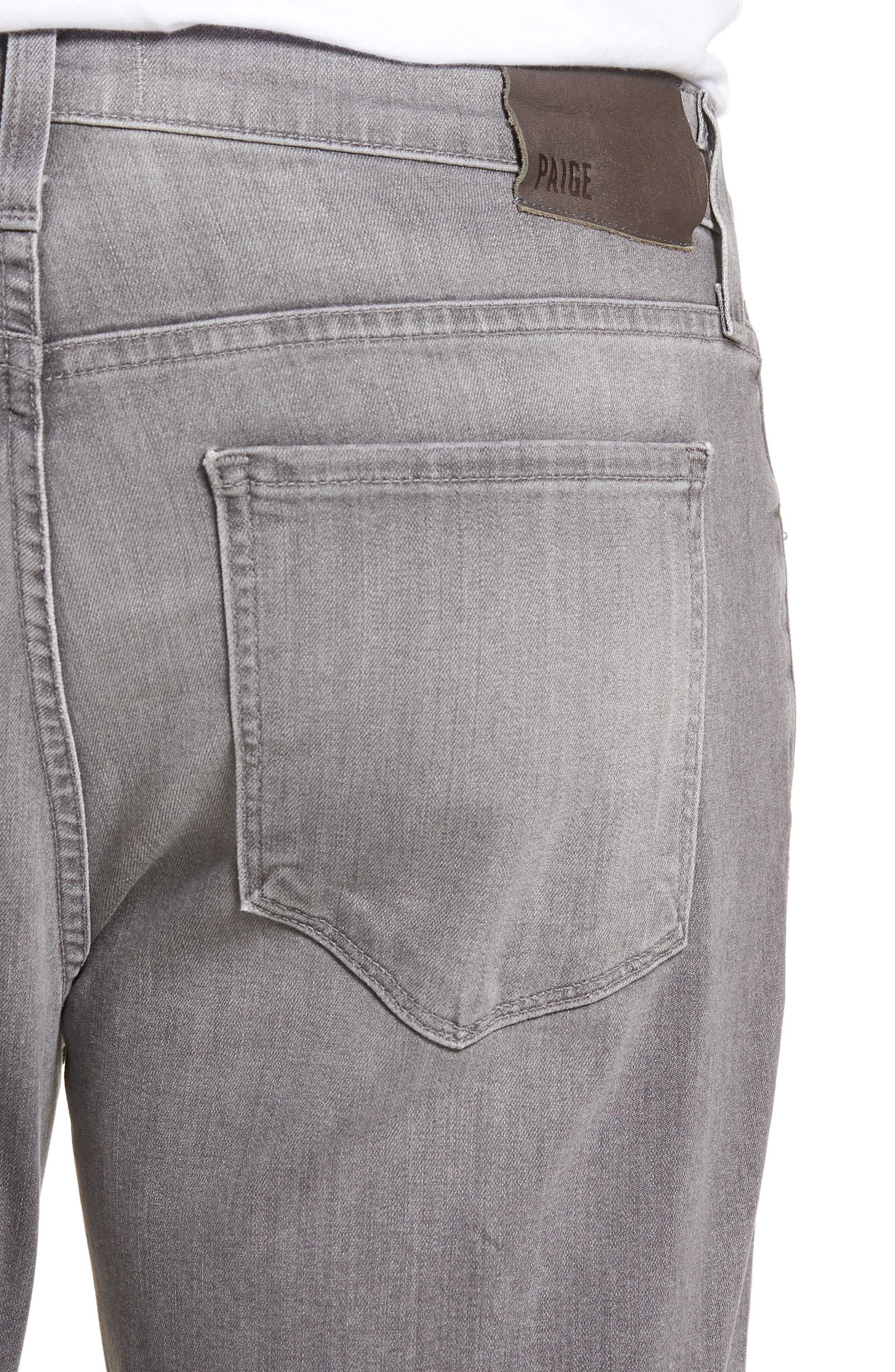 Normandie Straight Leg Jeans,                             Alternate thumbnail 4, color,                             030